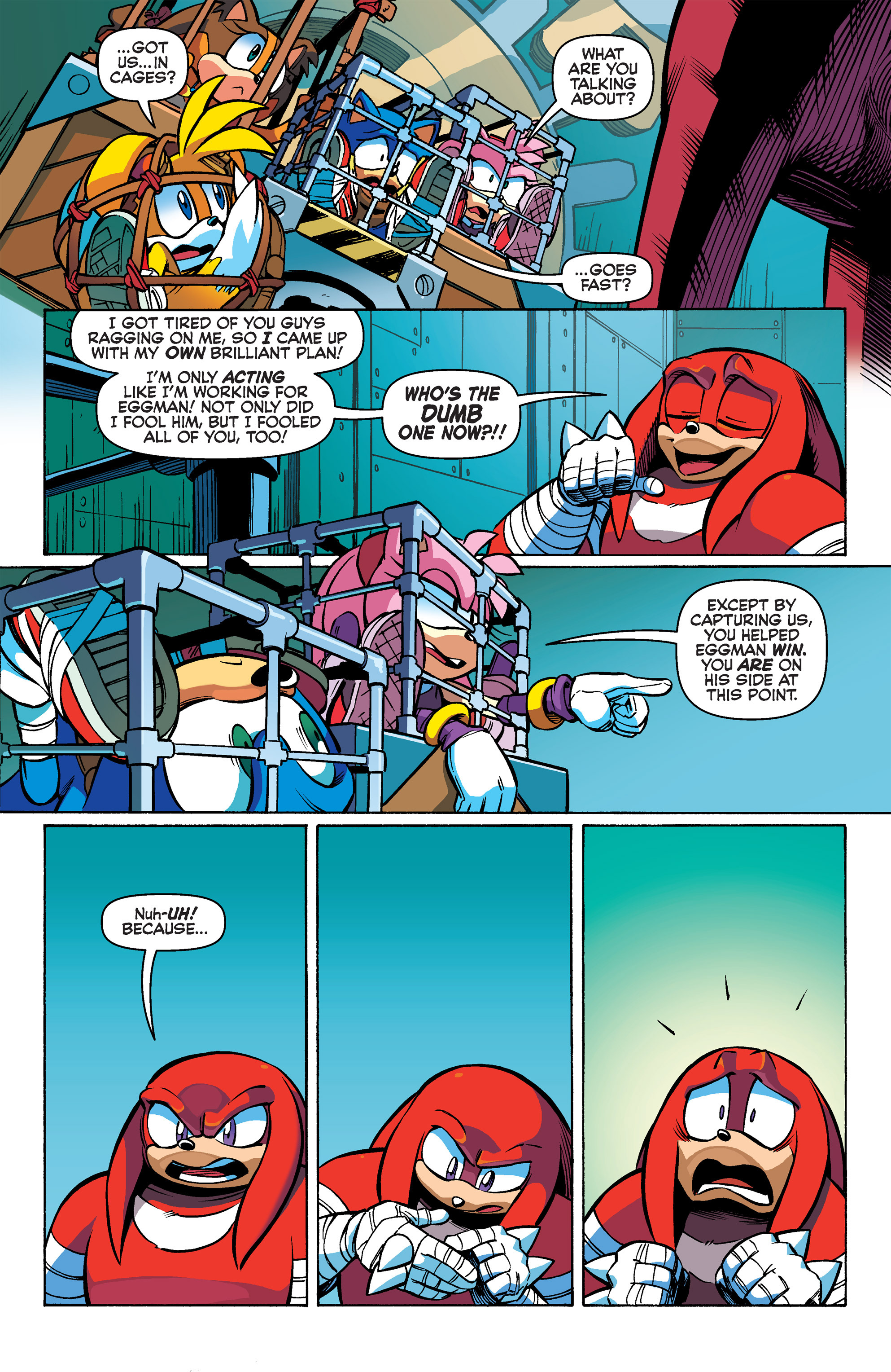 Read online Sonic Boom comic -  Issue #2 - 12