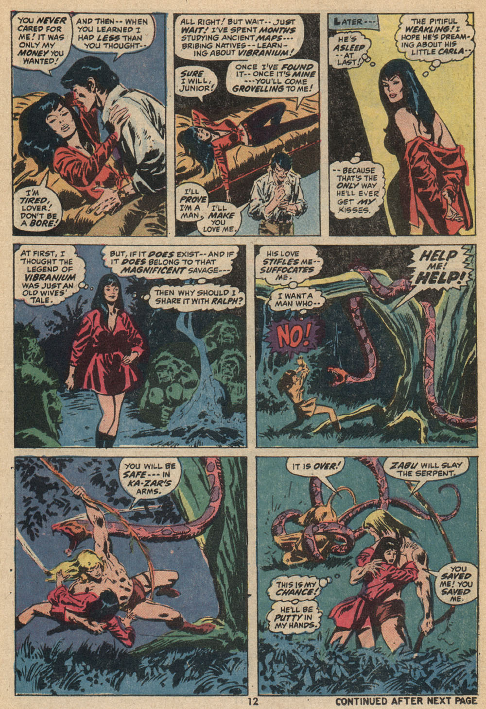 Astonishing Tales (1970) issue 14 - Page 9