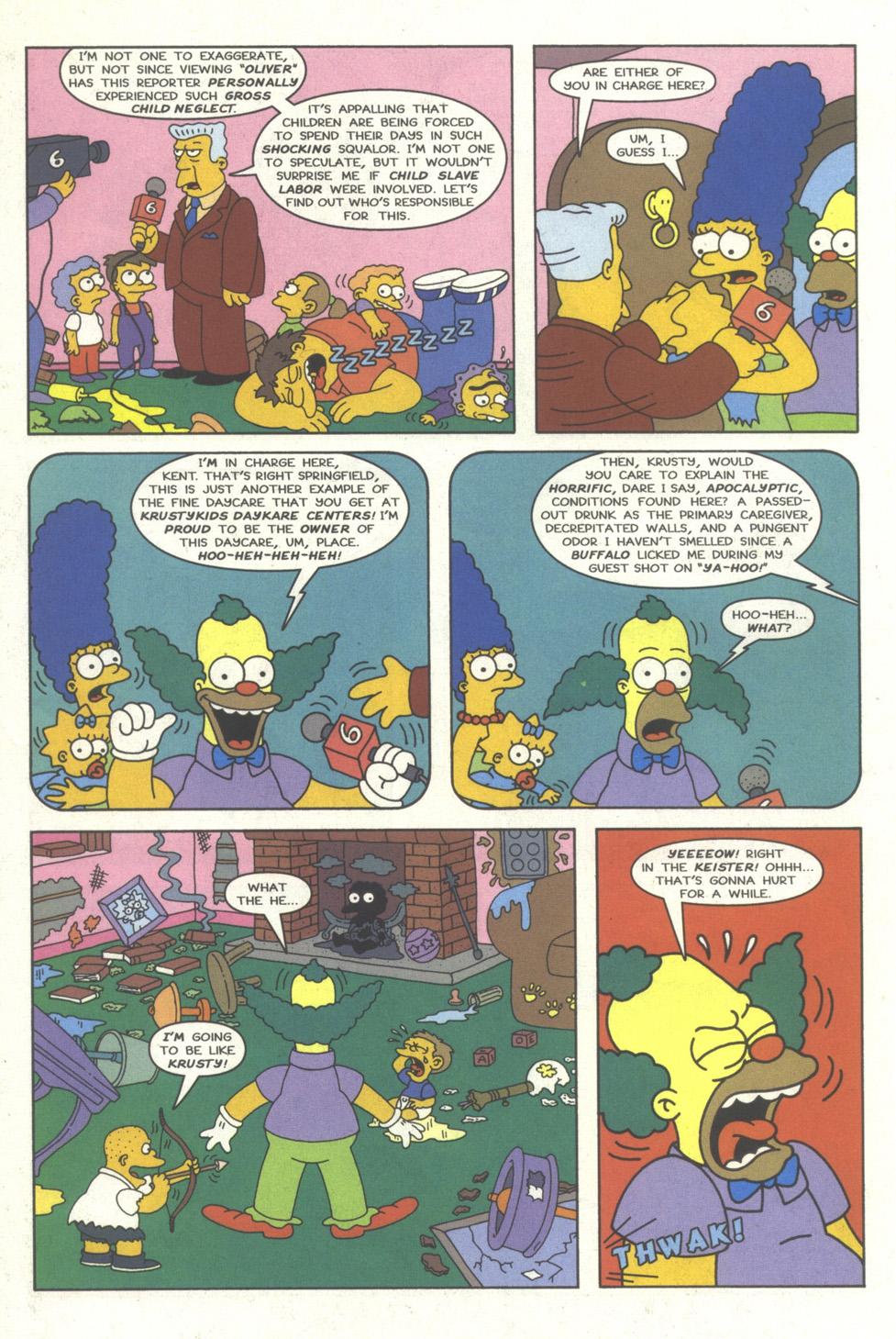 Read online Simpsons Comics comic -  Issue #35 - 21