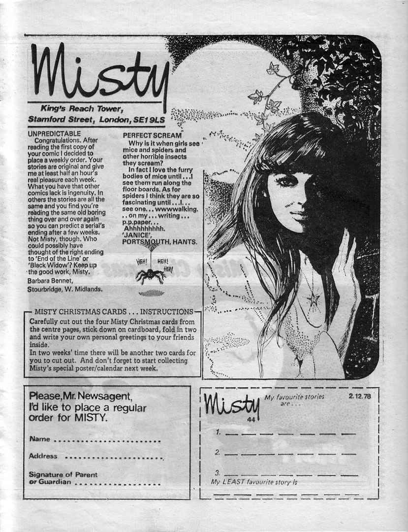 Read online Misty comic -  Issue #44 - 15