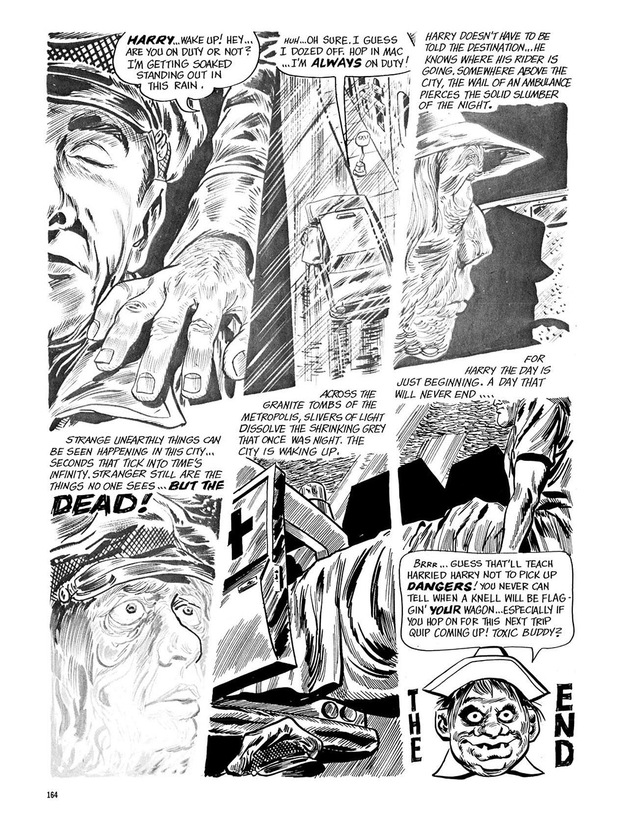 Read online Eerie Archives comic -  Issue # TPB 4 - 165