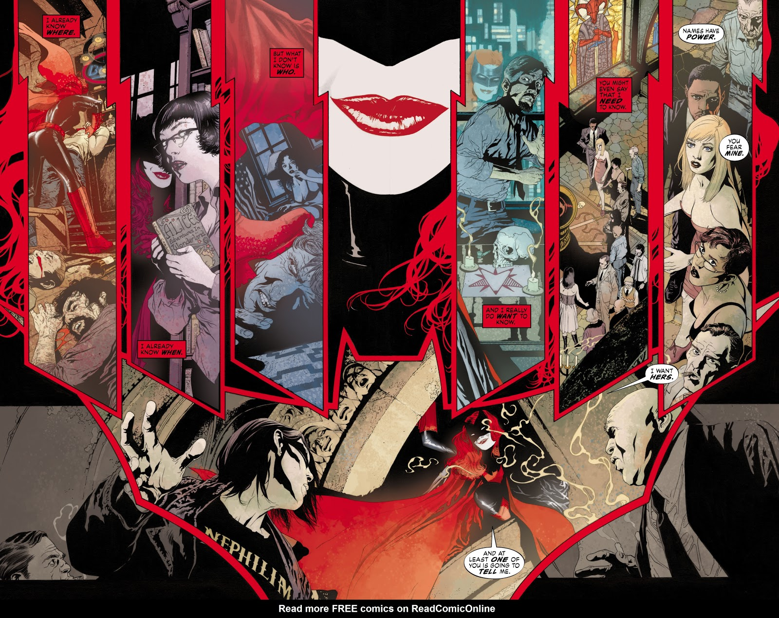 Read online Detective Comics (1937) comic -  Issue # _TPB Batwoman - Elegy (Part 1) - 22