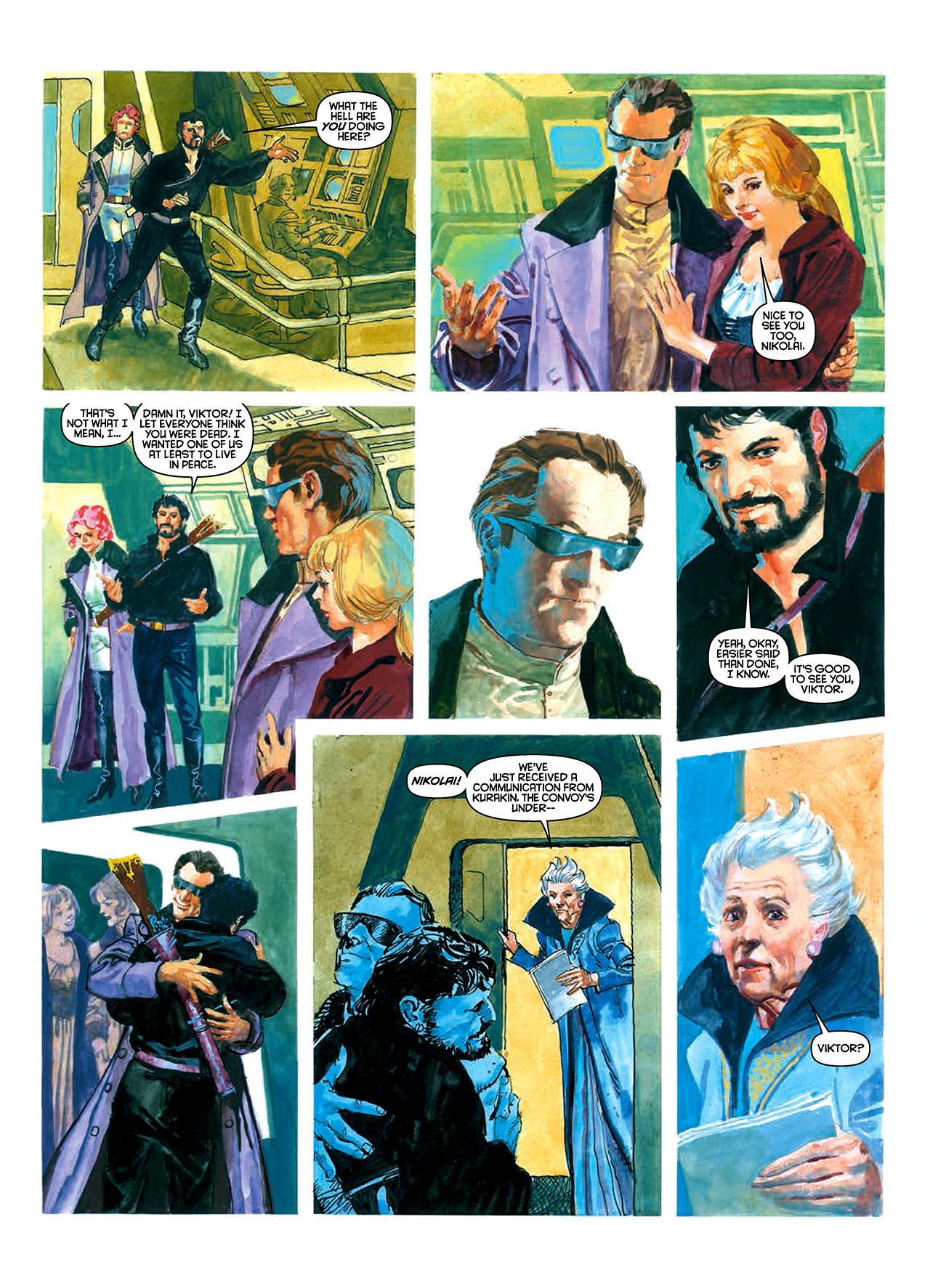 Read online Nikolai Dante comic -  Issue # TPB 10 - 40