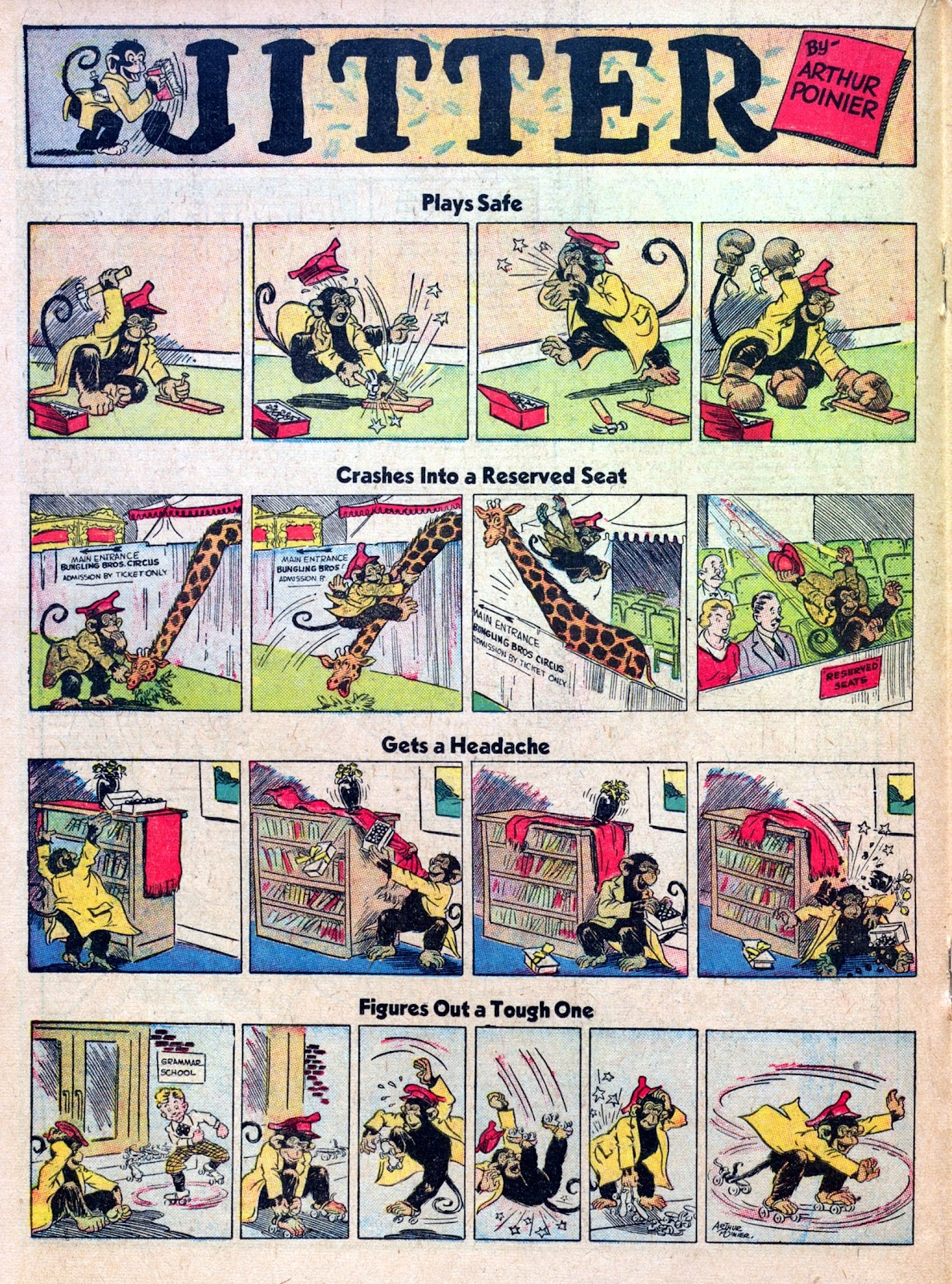 Read online Famous Funnies comic -  Issue #45 - 34