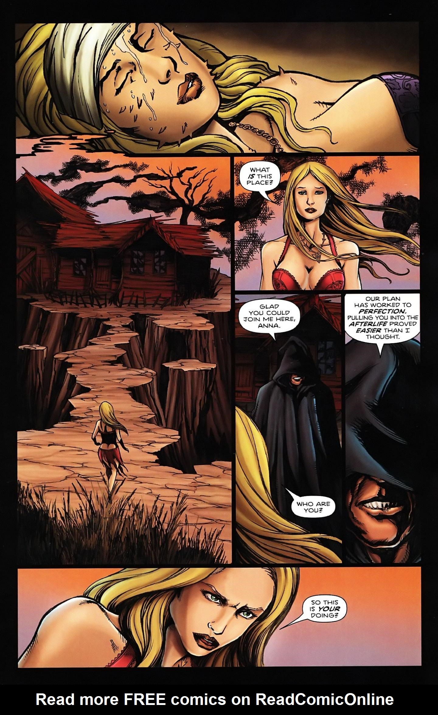 Read online Salem's Daughter: The Haunting comic -  Issue #5 - 7