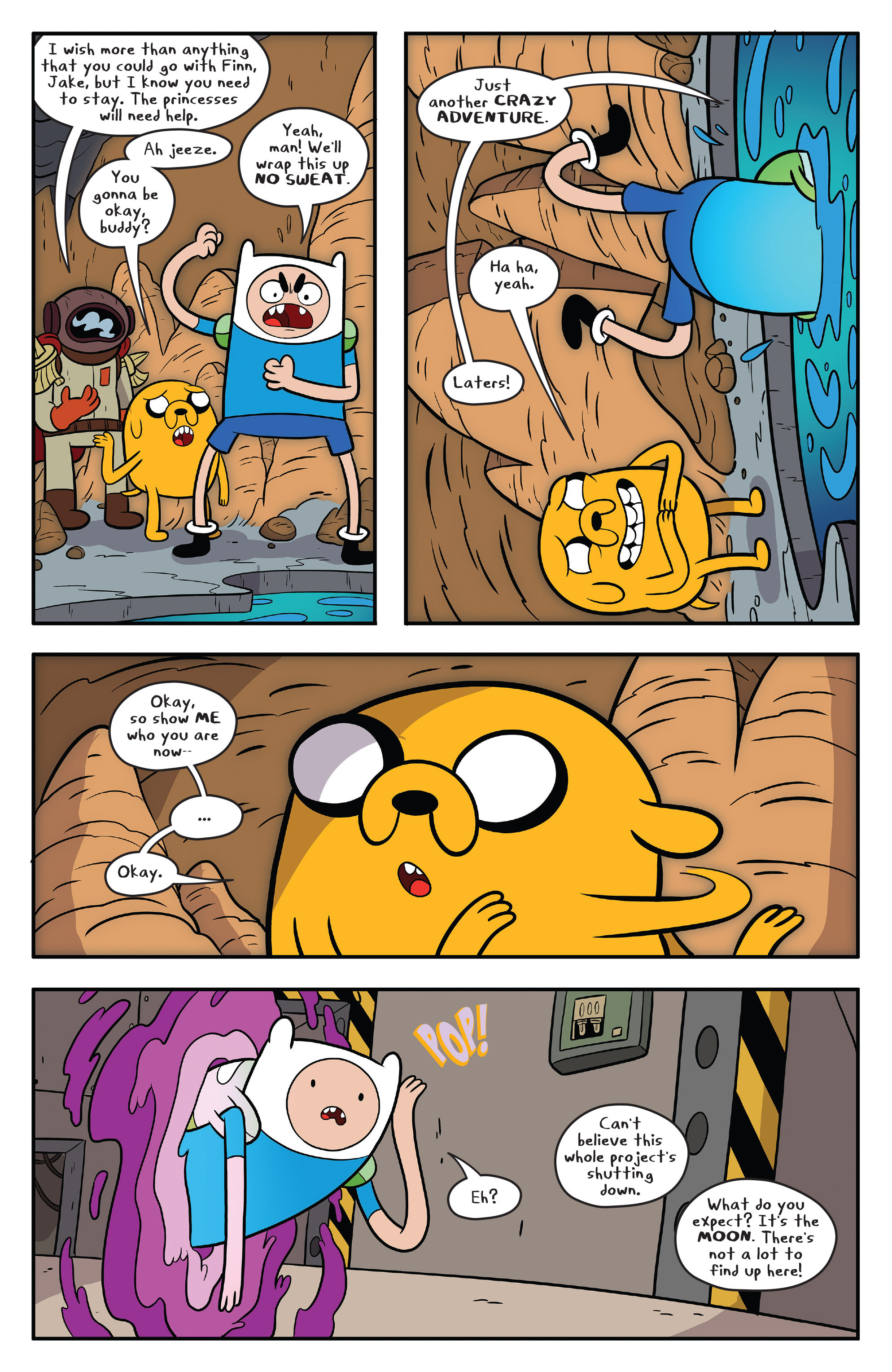 Read online Adventure Time comic -  Issue #59 - 21