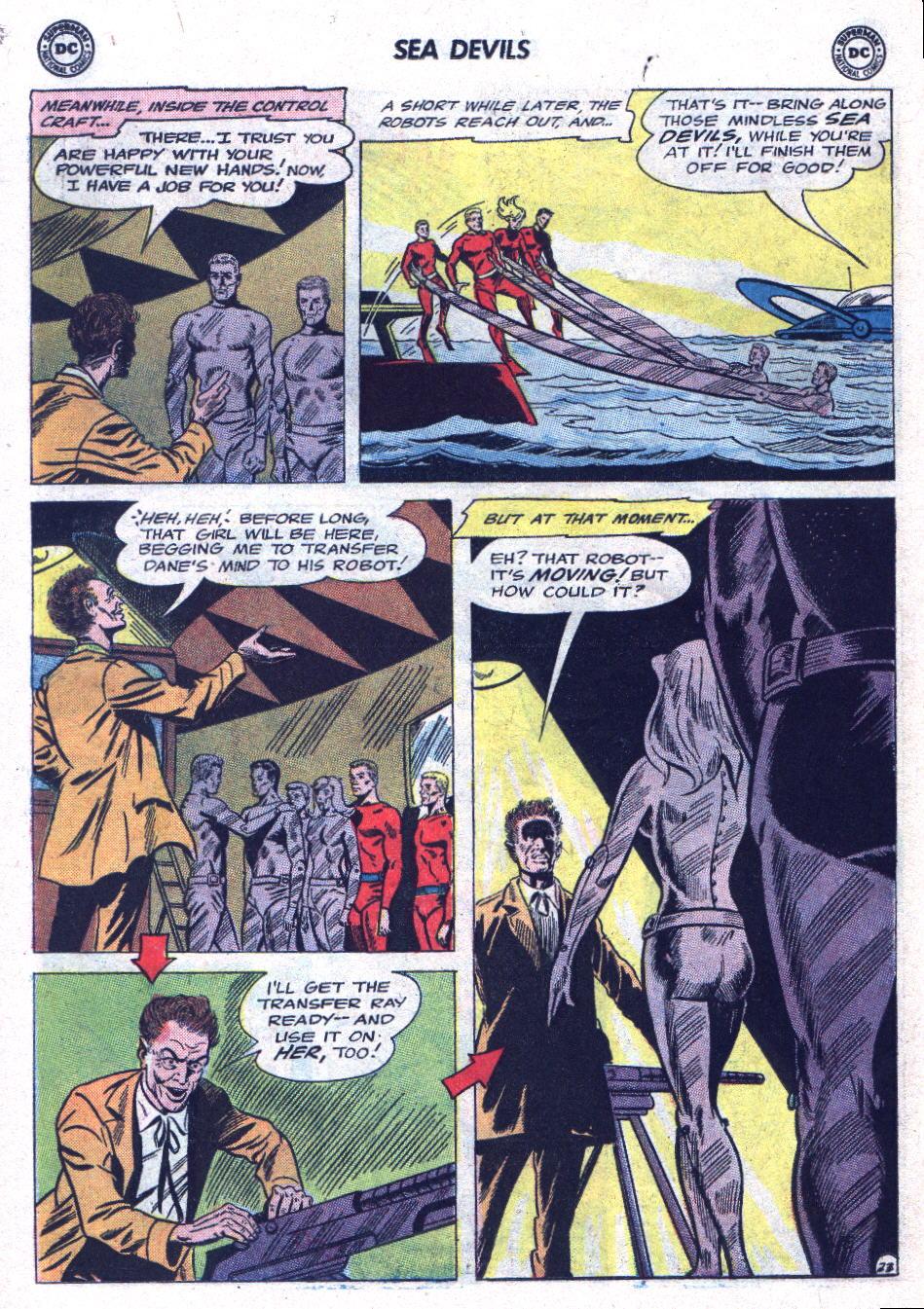 Read online Sea Devils comic -  Issue #19 - 30