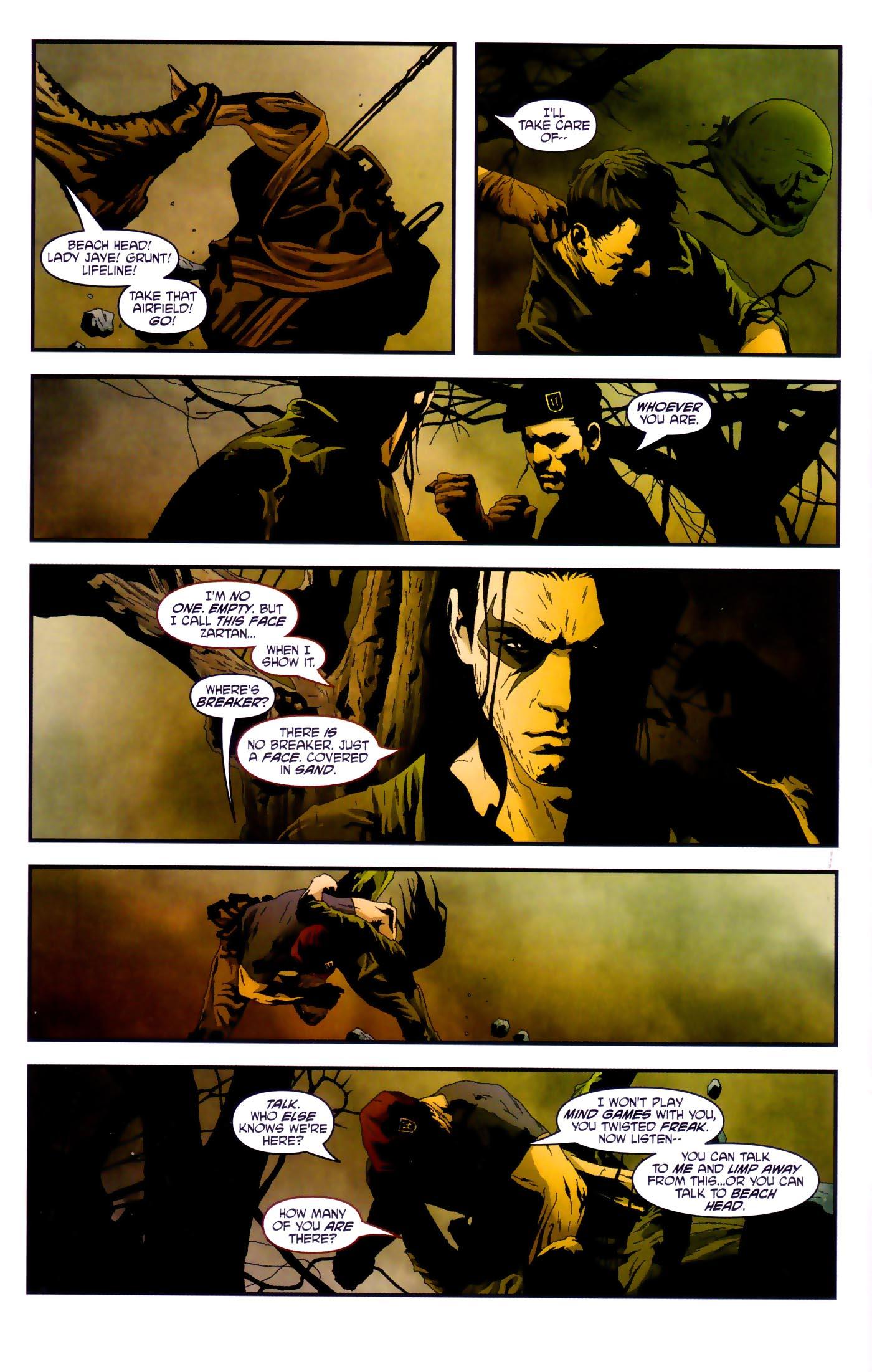 Read online Transformers/G.I. Joe comic -  Issue #4 - 4