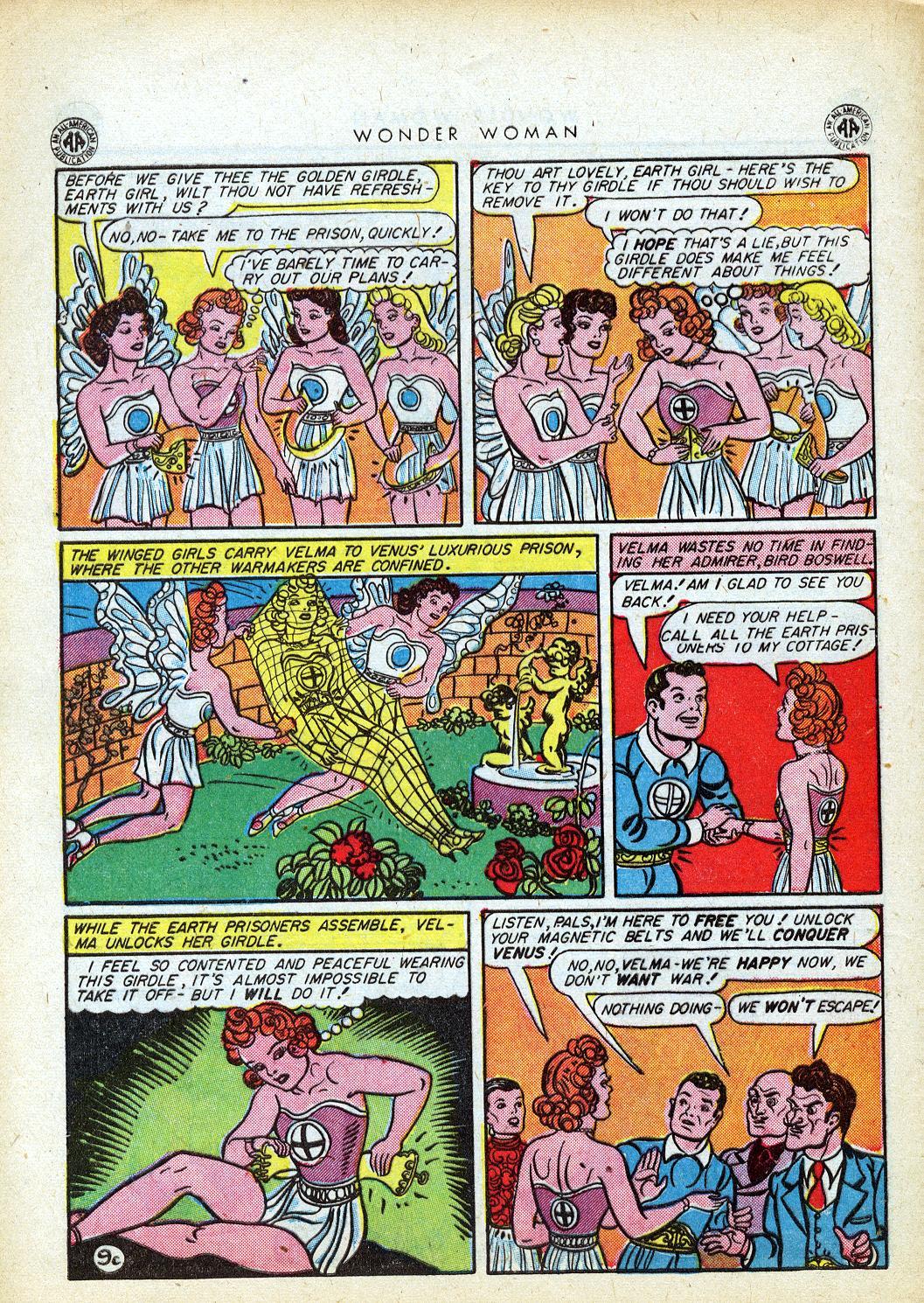 Read online Wonder Woman (1942) comic -  Issue #12 - 42