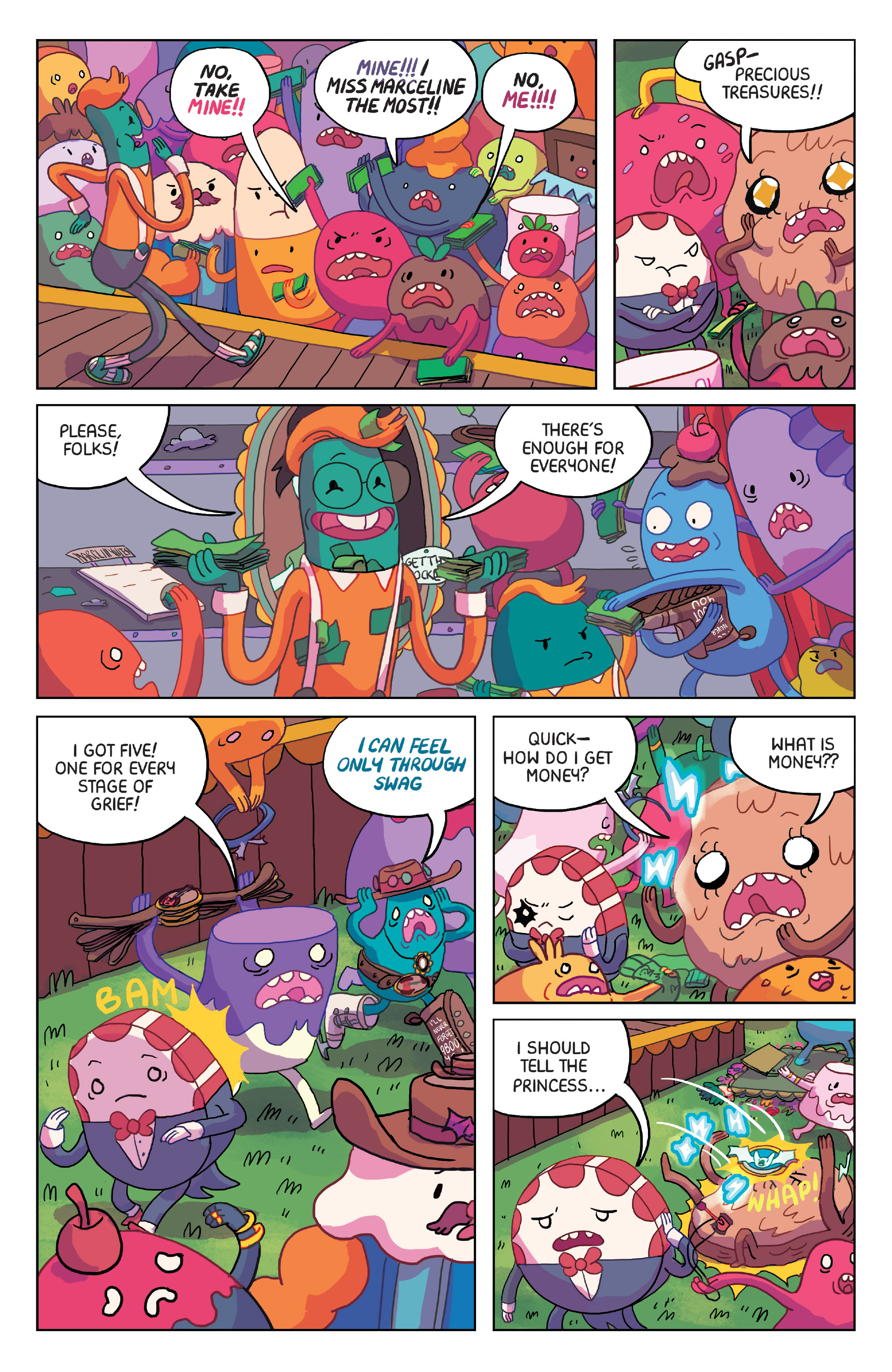 Read online Adventure Time: Marceline Gone Adrift comic -  Issue #2 - 6