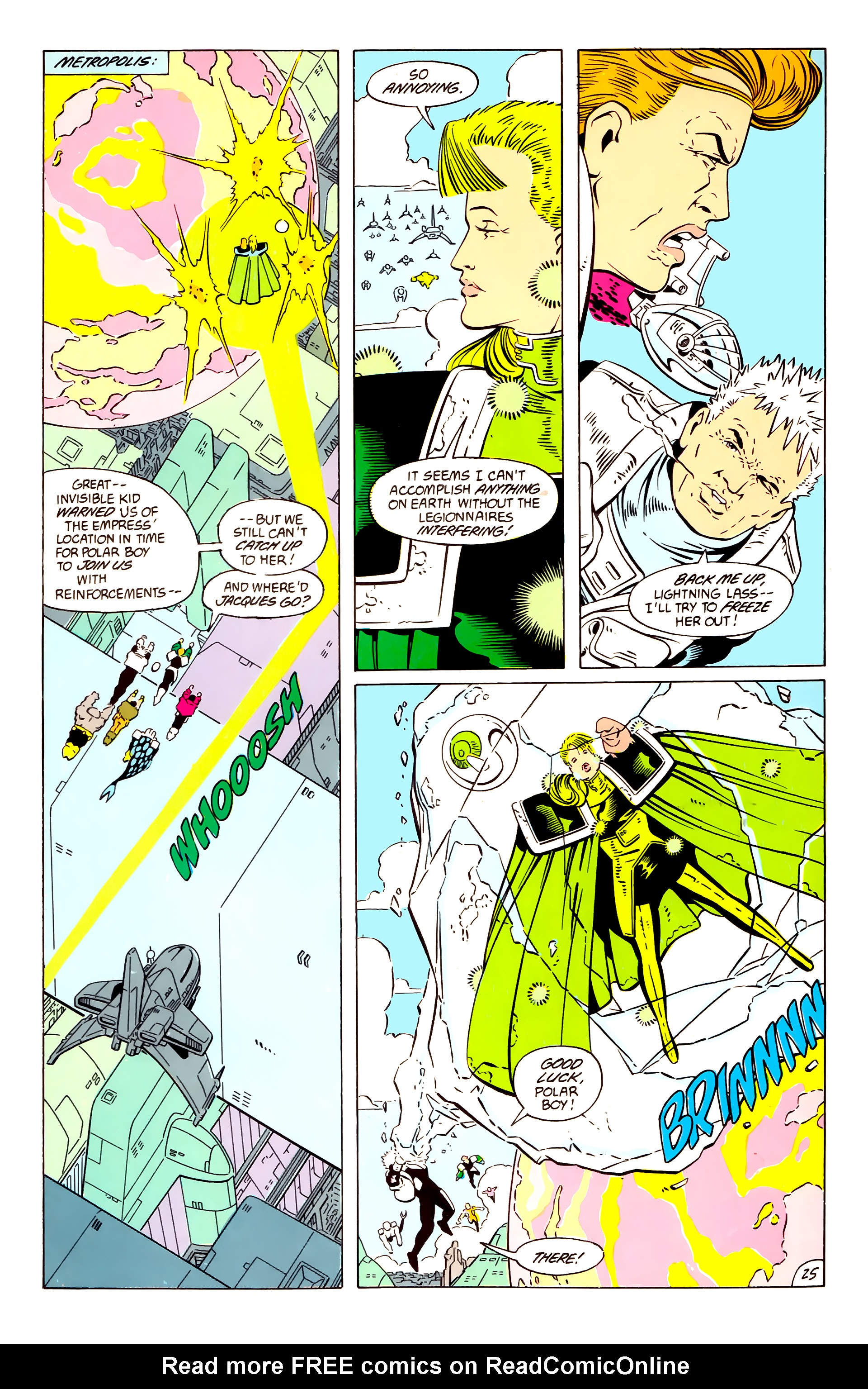 Legion of Super-Heroes (1984) 57 Page 25