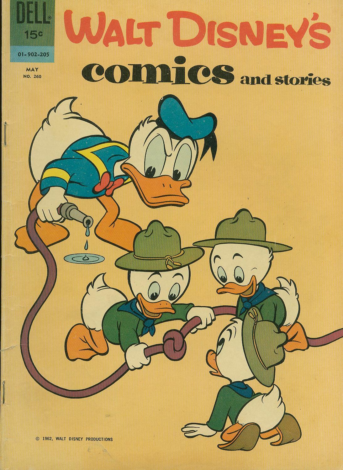 Walt Disneys Comics and Stories 260 Page 1