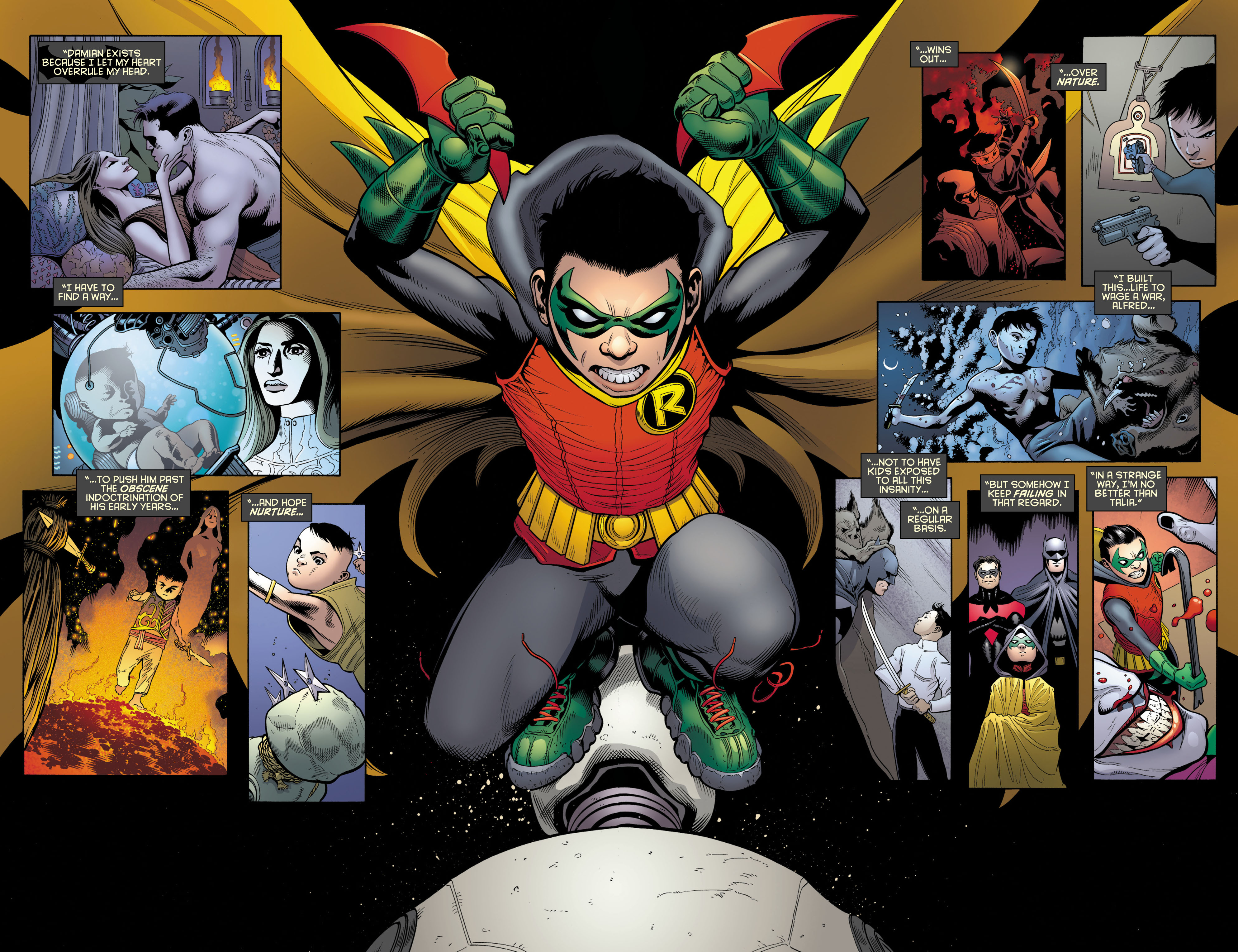 Read online Batman and Robin (2011) comic -  Issue # TPB 1 - 29