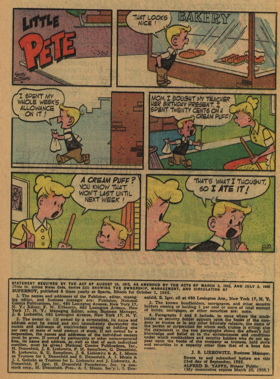 Superboy (1949) issue 47 - Page 19