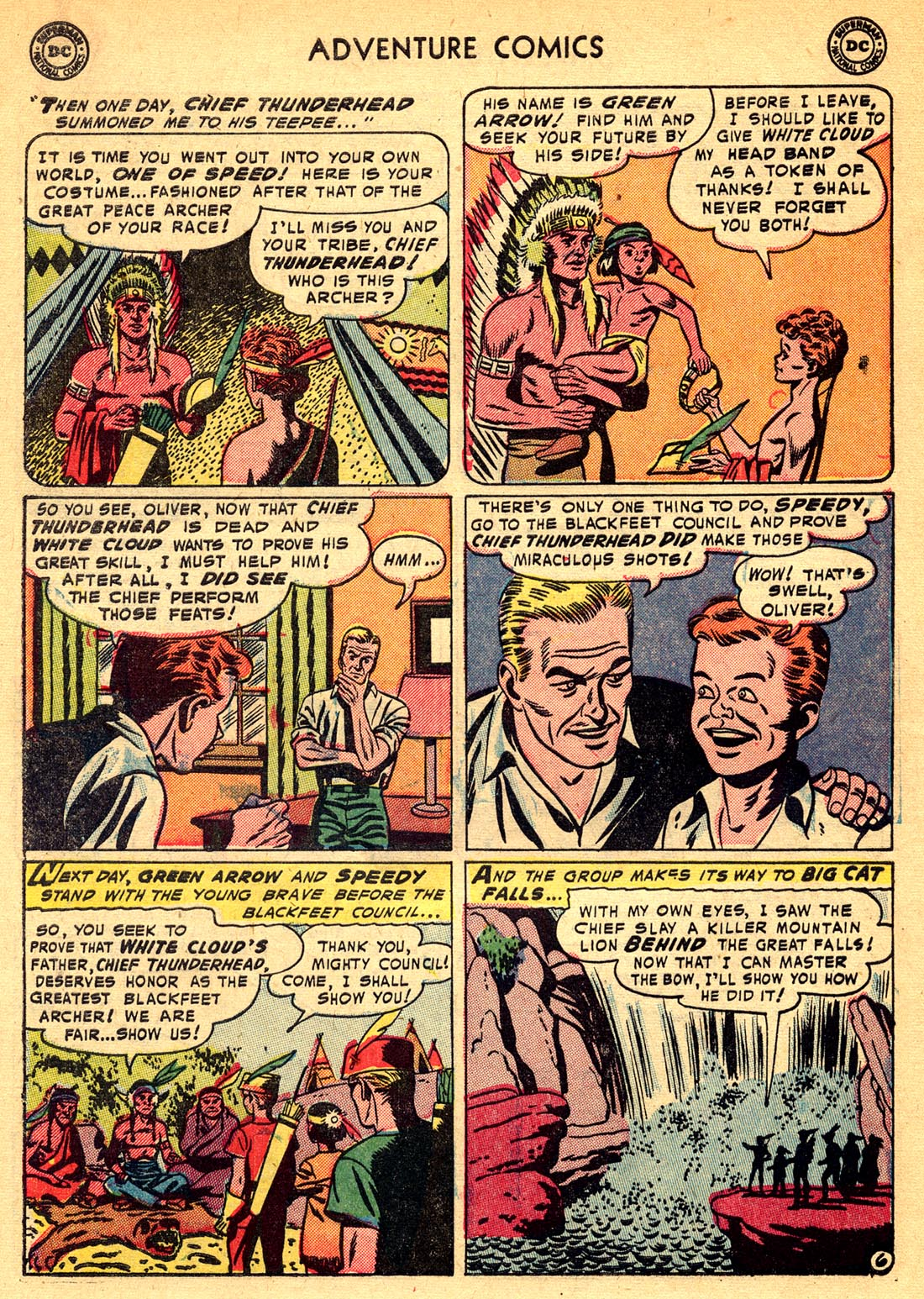 Read online Adventure Comics (1938) comic -  Issue #209 - 30