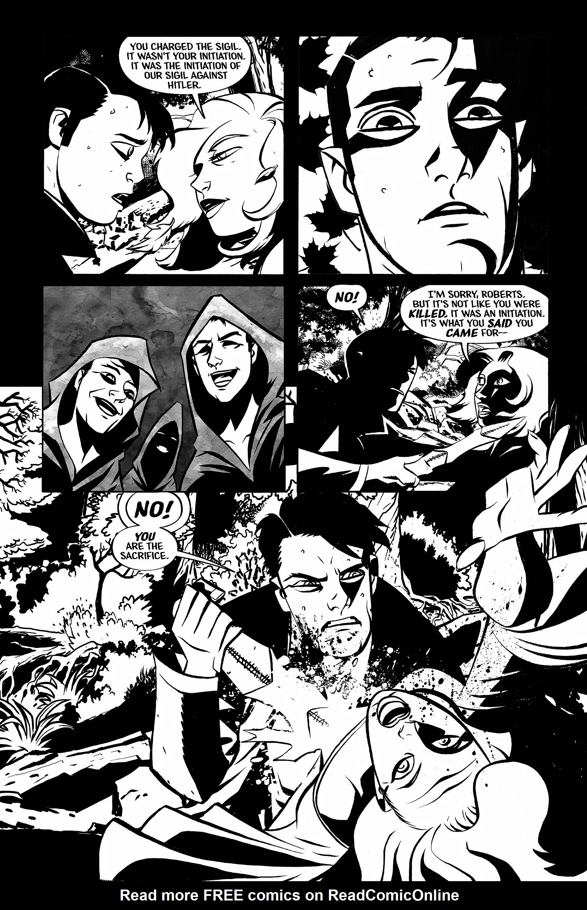 Read online Aleister & Adolf comic -  Issue # TPB - 73