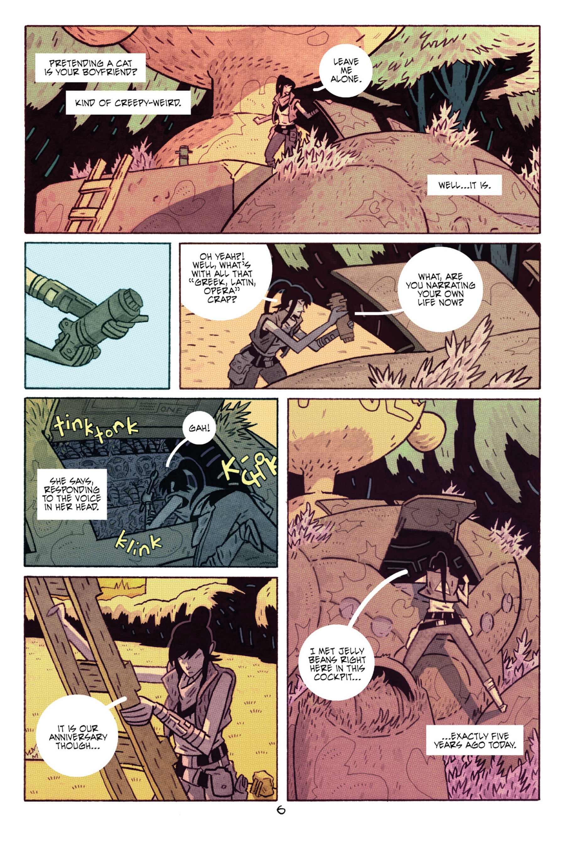 Read online ApocalyptiGirl: An Aria for the End Times comic -  Issue #ApocalyptiGirl: An Aria for the End Times Full - 14