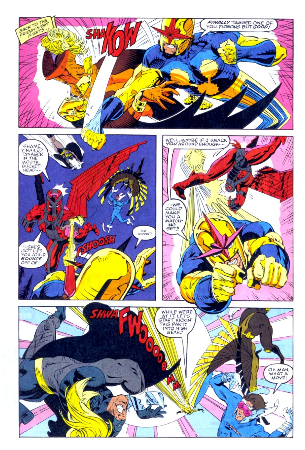 The New Warriors Issue #35 #39 - English 19