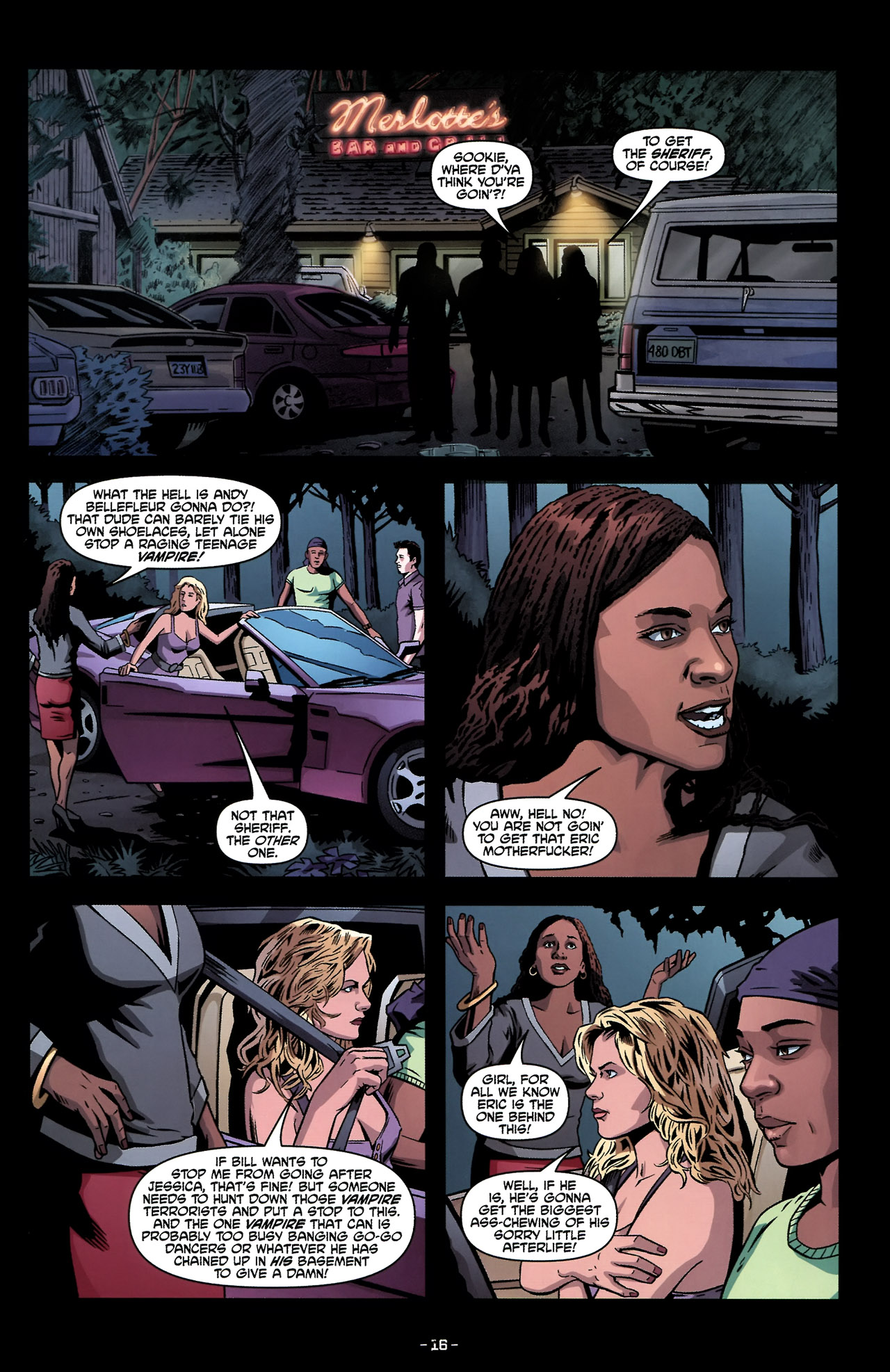Read online True Blood: Tainted Love comic -  Issue #2 - 20