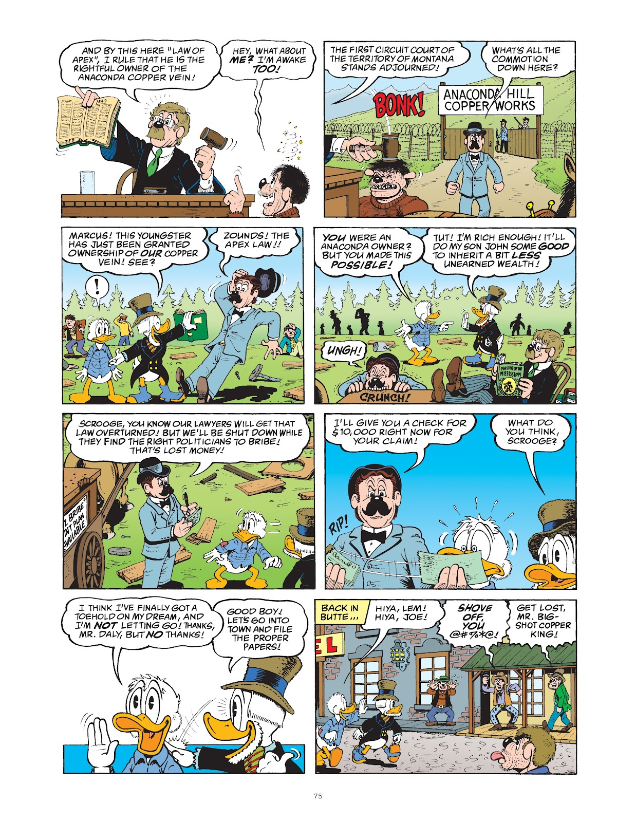 Read online The Complete Life and Times of Scrooge McDuck comic -  Issue # TPB 1 (Part 1) - 79