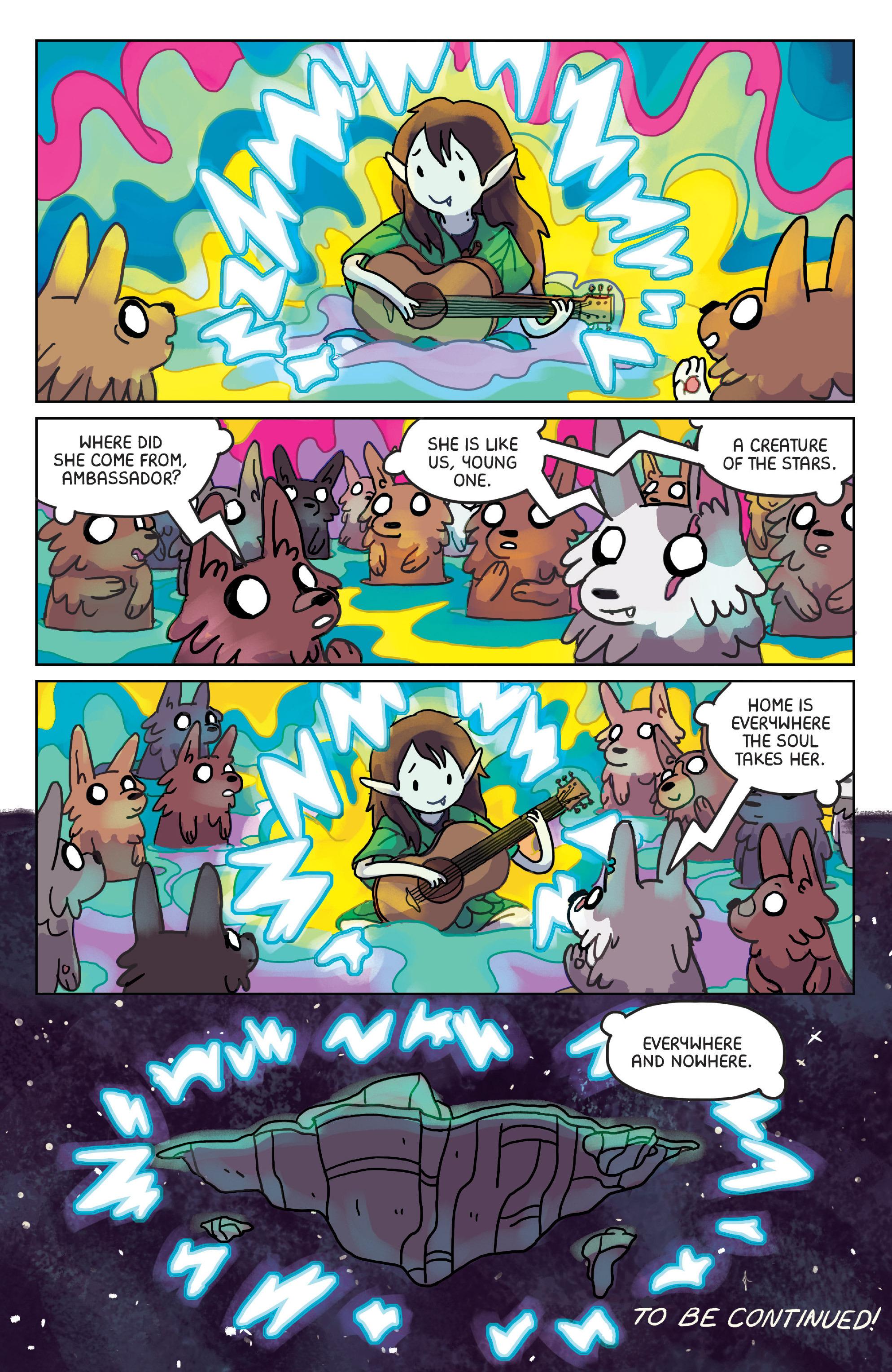 Read online Adventure Time: Marceline Gone Adrift comic -  Issue #4 - 24