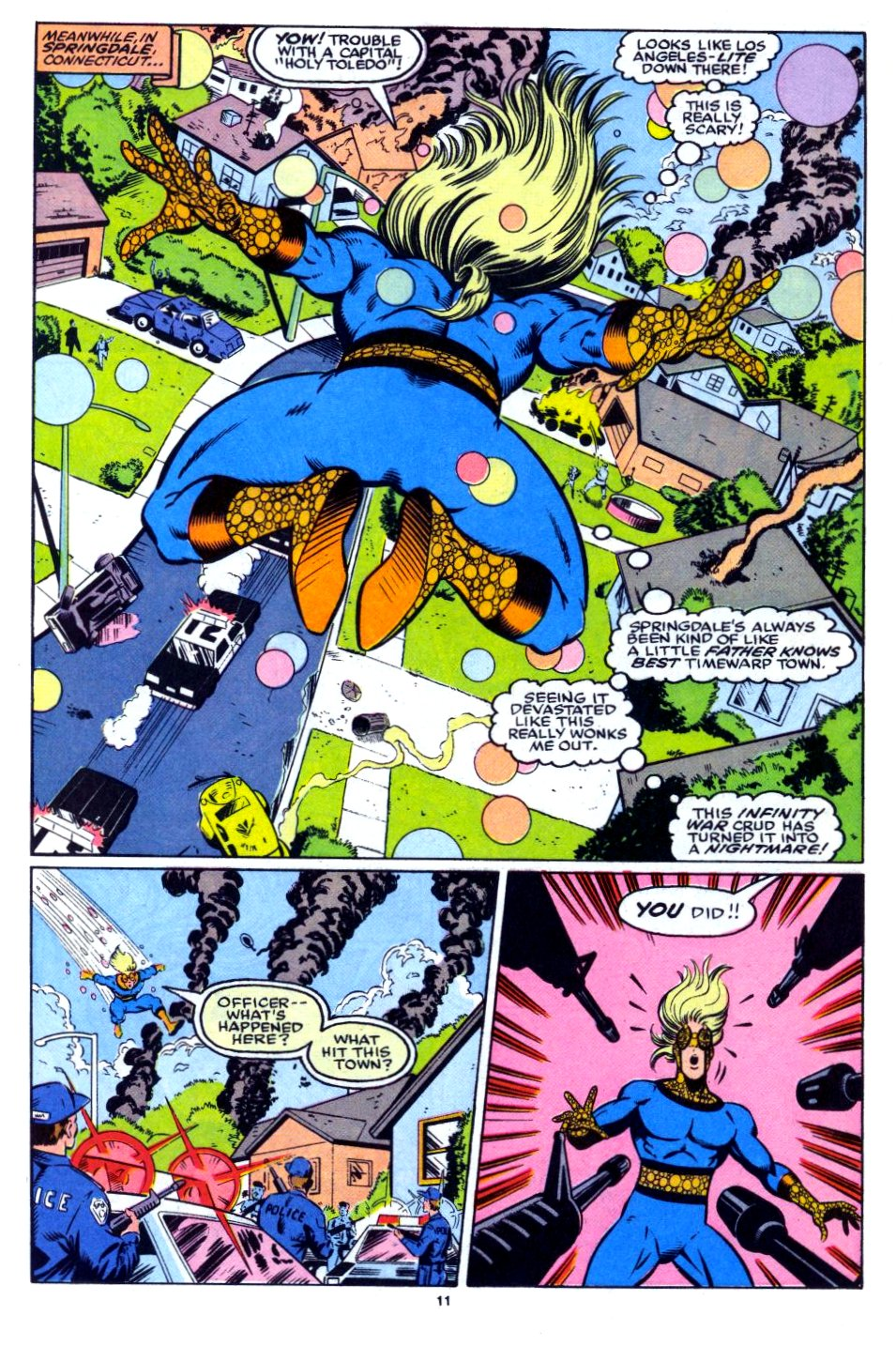 The New Warriors Issue #27 #31 - English 10