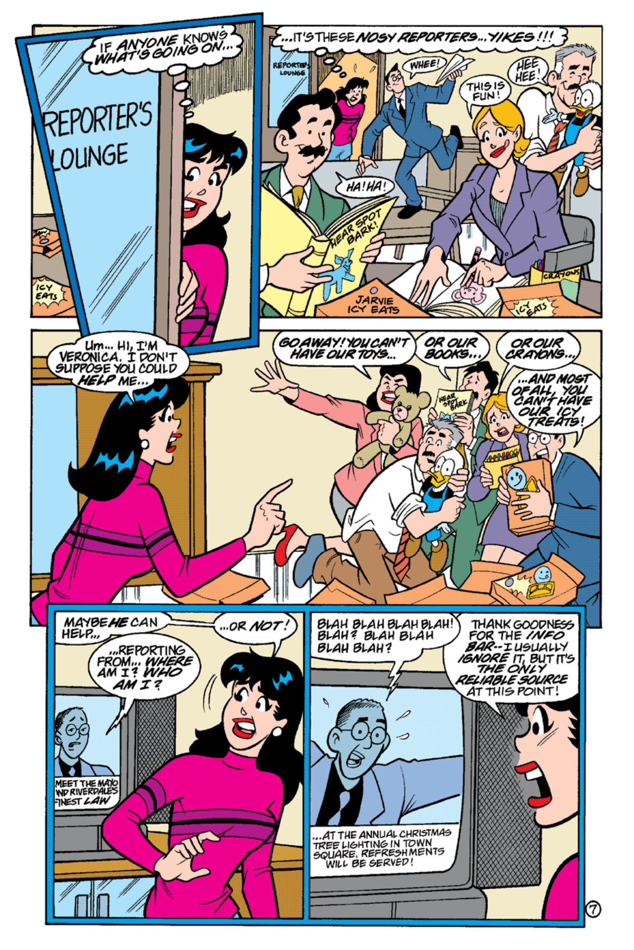 Read online Archie's Weird Mysteries comic -  Issue #18 - 9