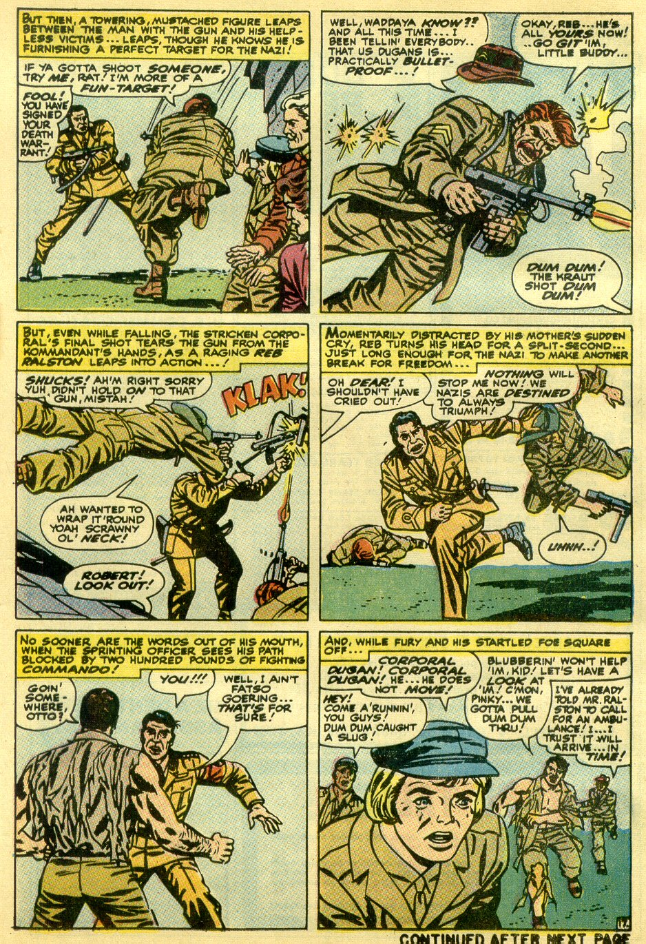 Read online Sgt. Fury comic -  Issue #82 - 25
