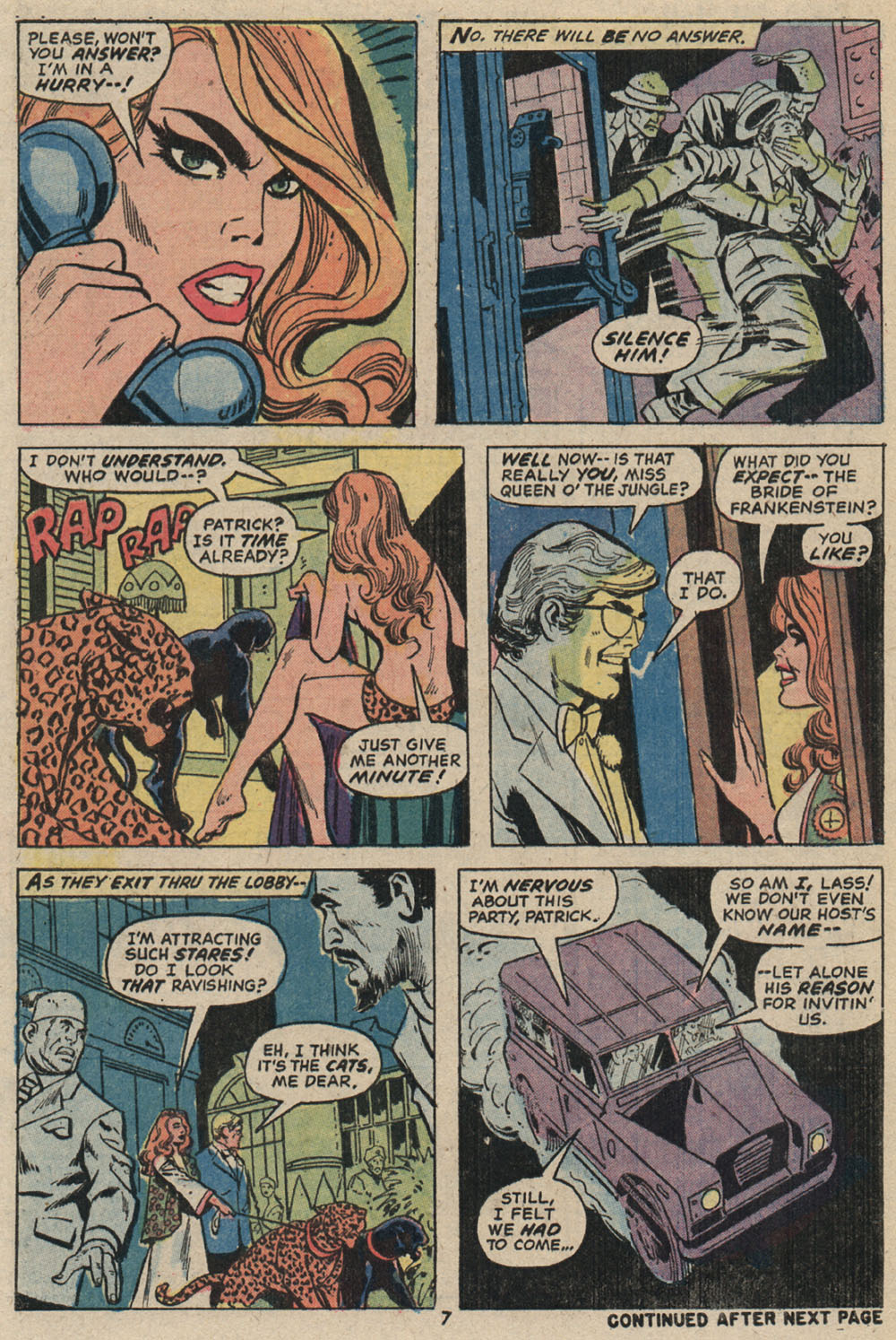 Read online Shanna, the She-Devil (1972) comic -  Issue #4 - 7