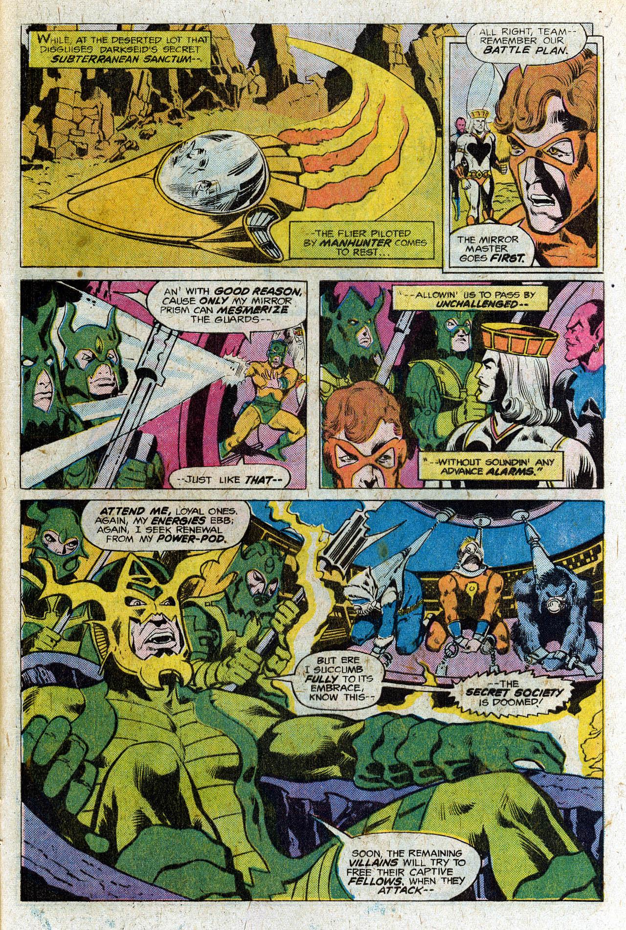 Read online Secret Society of Super-Villains comic -  Issue #3 - 24