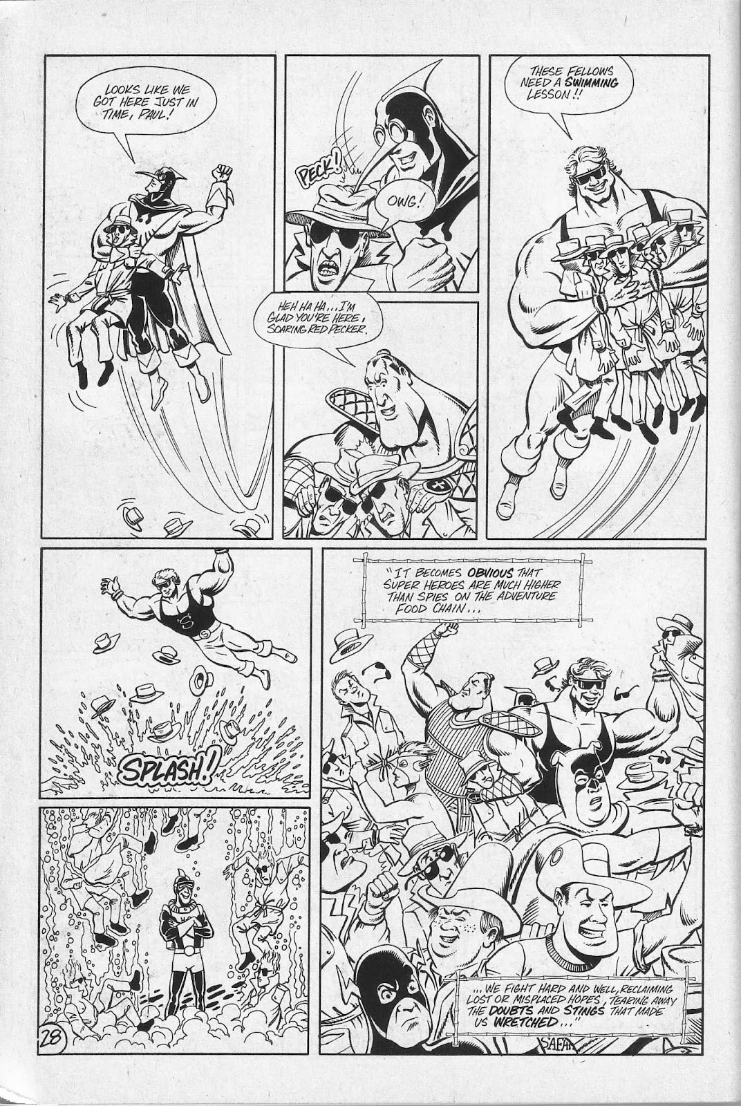Read online Paul the Samurai (1991) comic -  Issue # TPB - 94