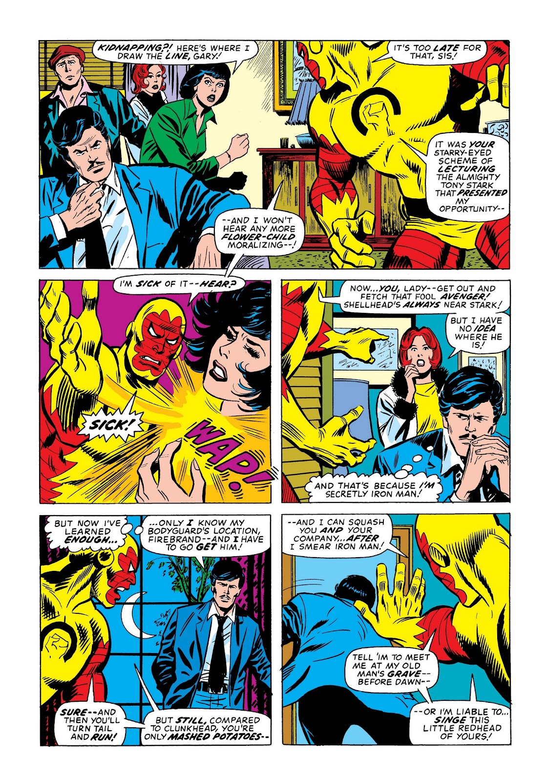 Read online Marvel Masterworks: The Invincible Iron Man comic -  Issue # TPB 9 (Part 2) - 23