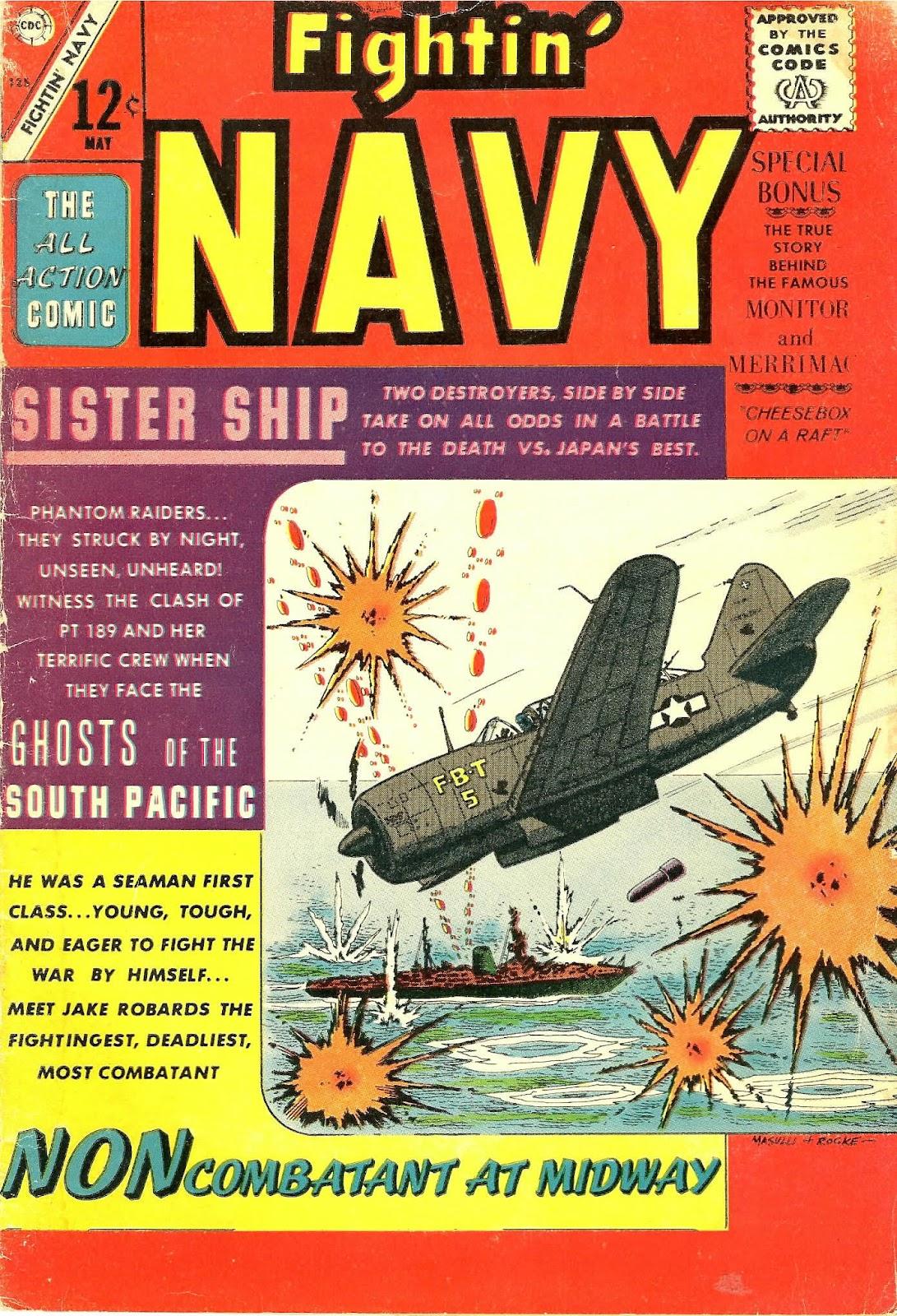 Read online Fightin' Navy comic -  Issue #125 - 1