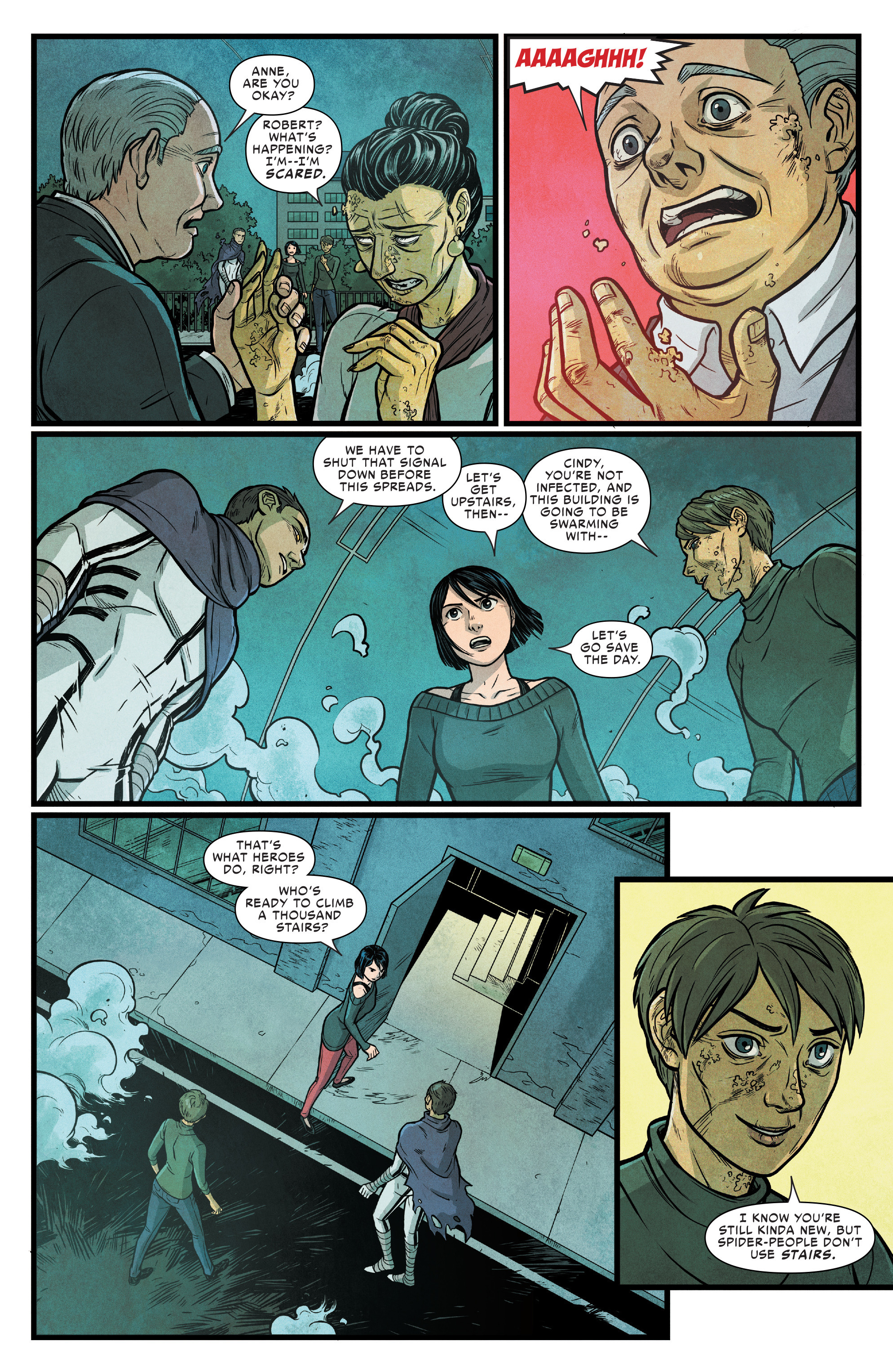 Read online Silk (2016) comic -  Issue #17 - 11