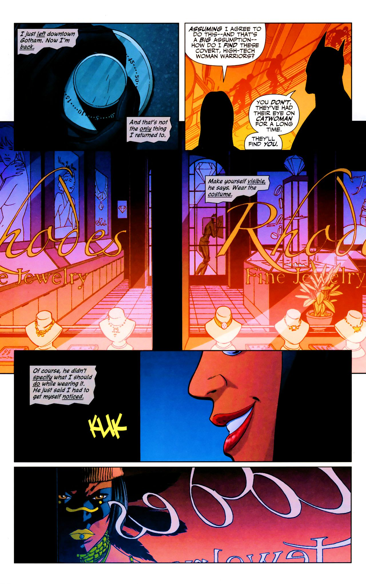 Read online Catwoman (2002) comic -  Issue #69 - 13