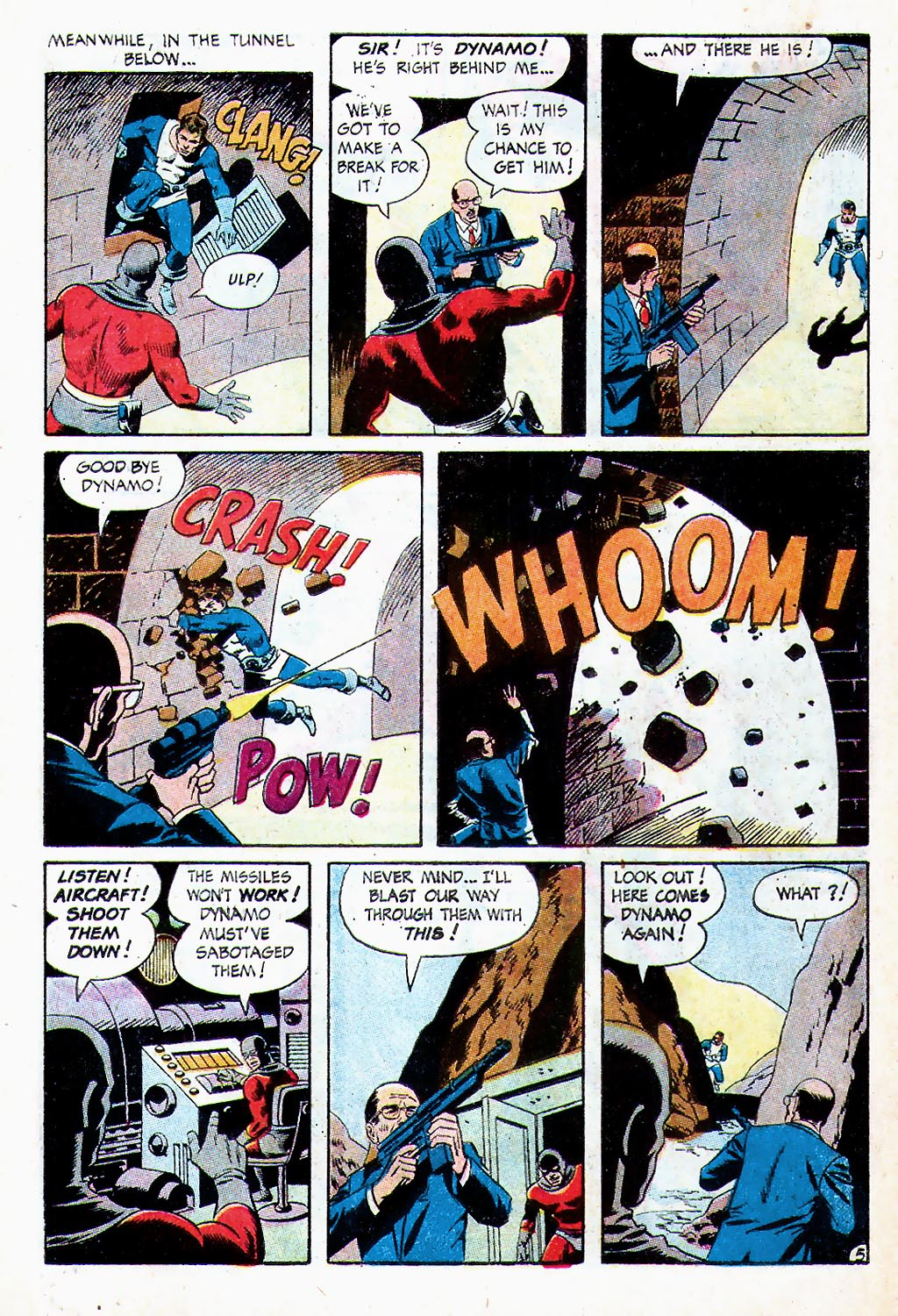 T.H.U.N.D.E.R. Agents (1965) issue 13 - Page 6