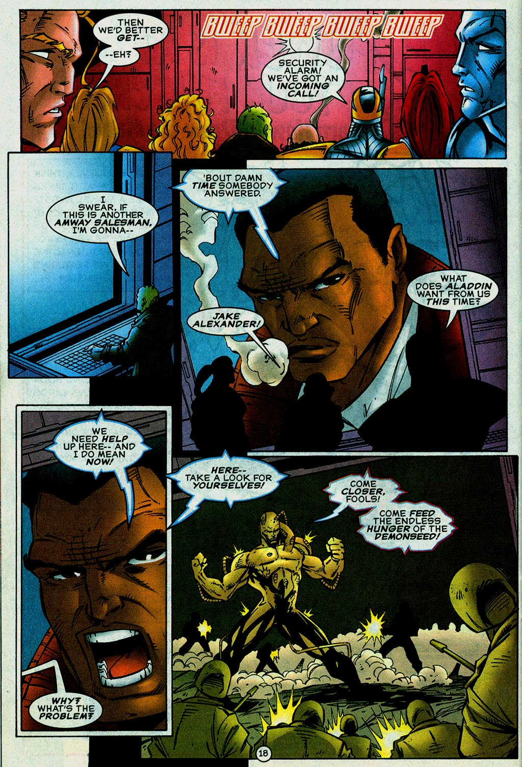 Read online UltraForce (1995) comic -  Issue #14 - 18