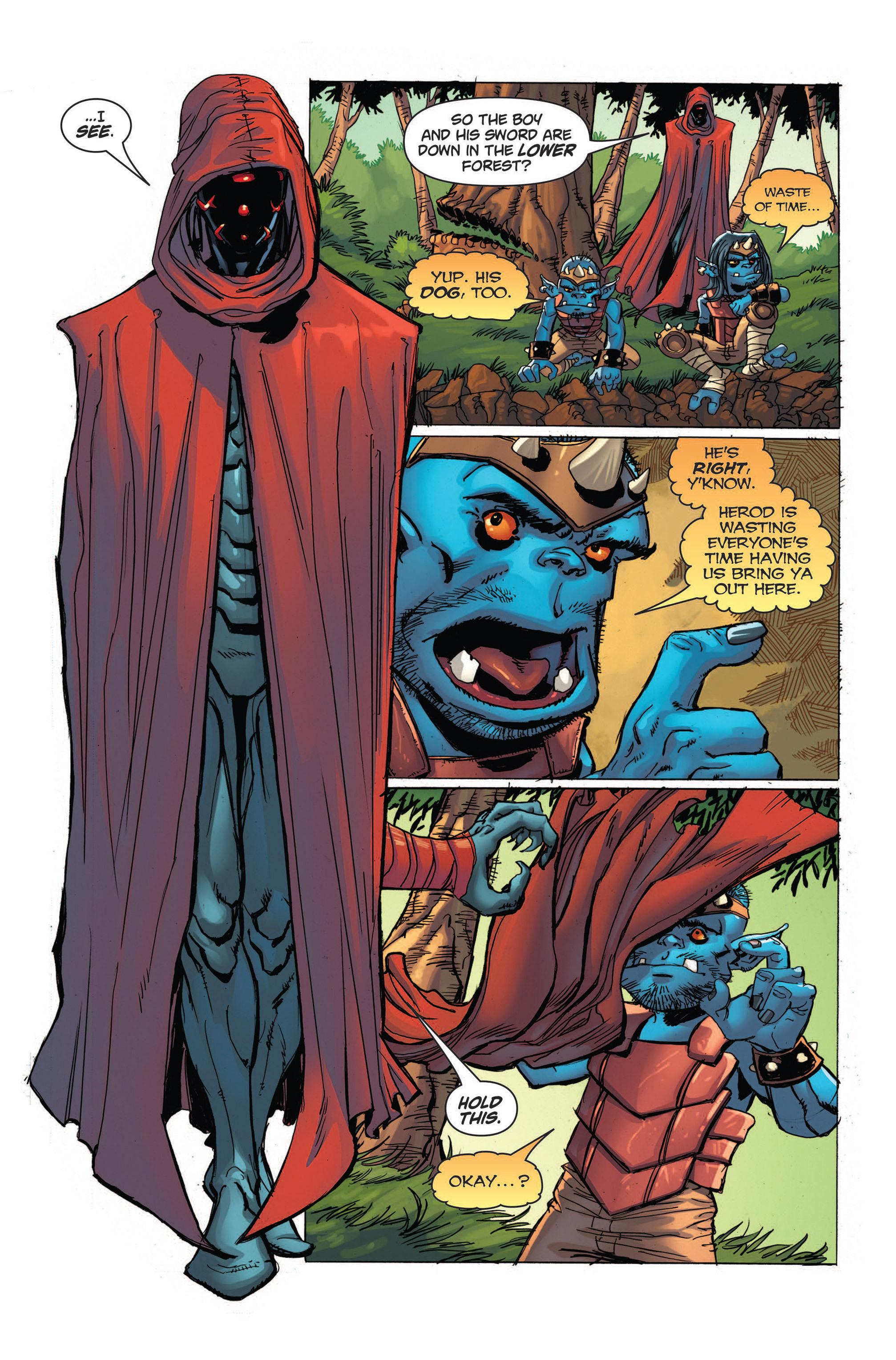 Read online Skyward comic -  Issue #4 - 13