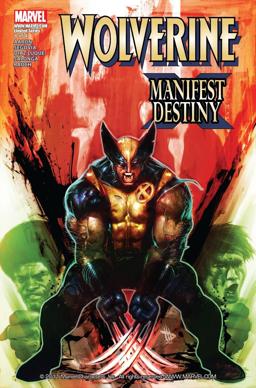 Wolverine: Manifest Destiny issue 4 - Page 1