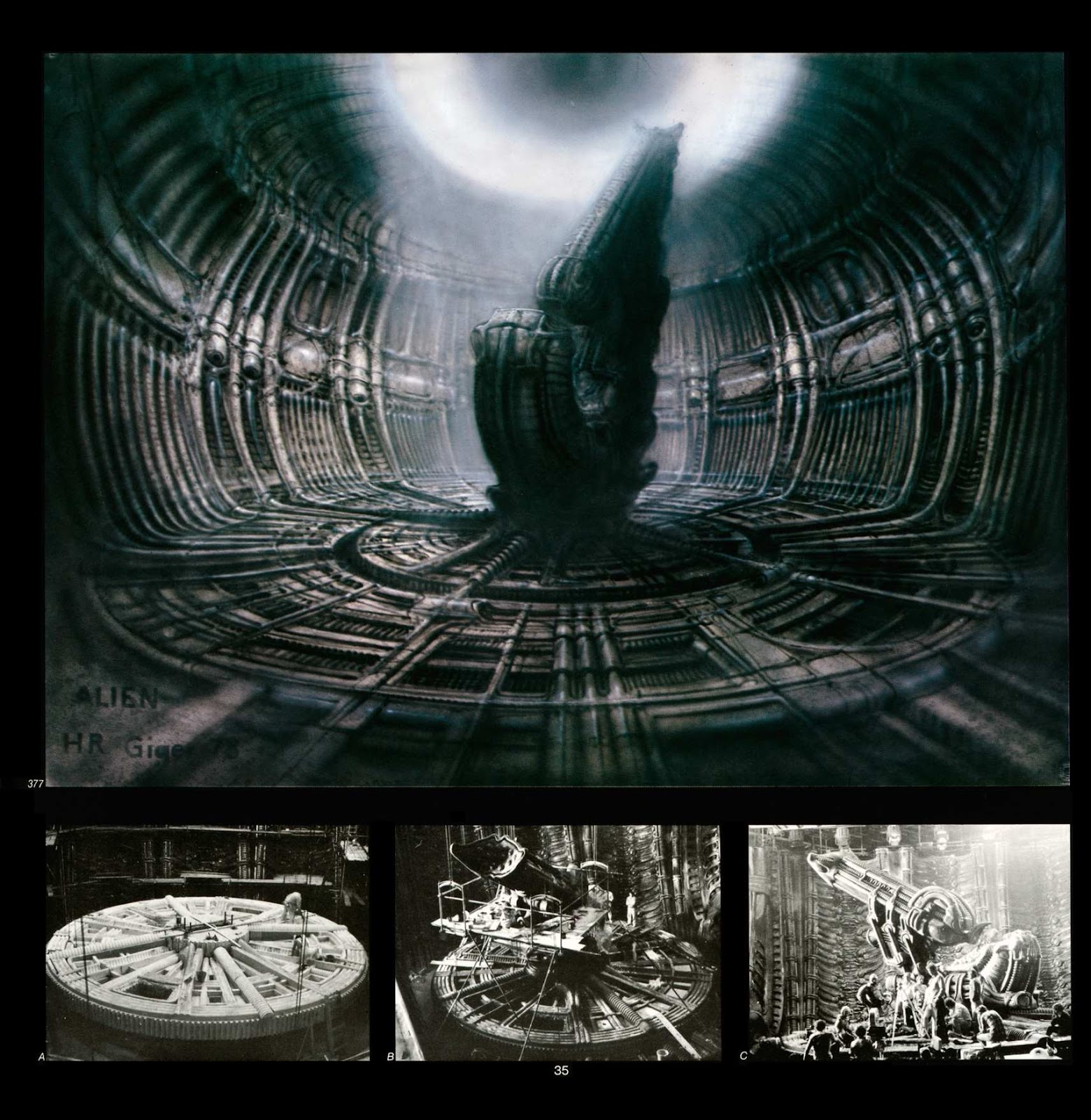 Read online Giger's Alien comic -  Issue # TPB - 37