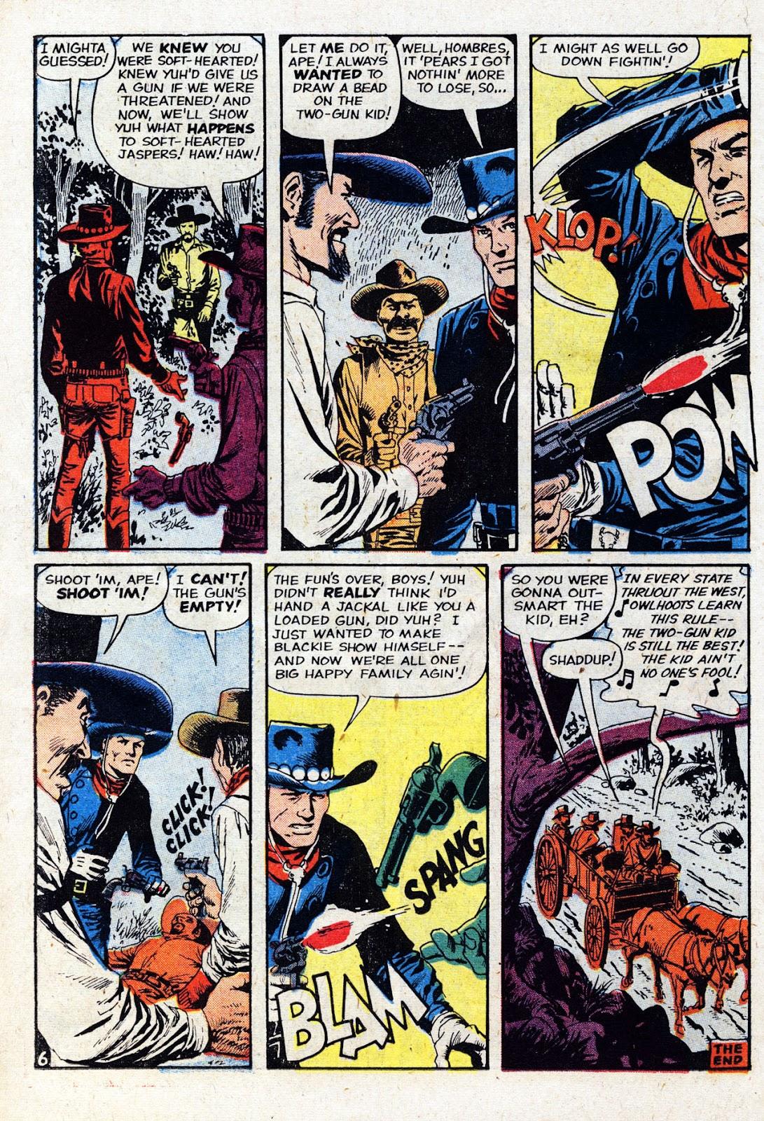 Gunsmoke Western issue 61 - Page 18