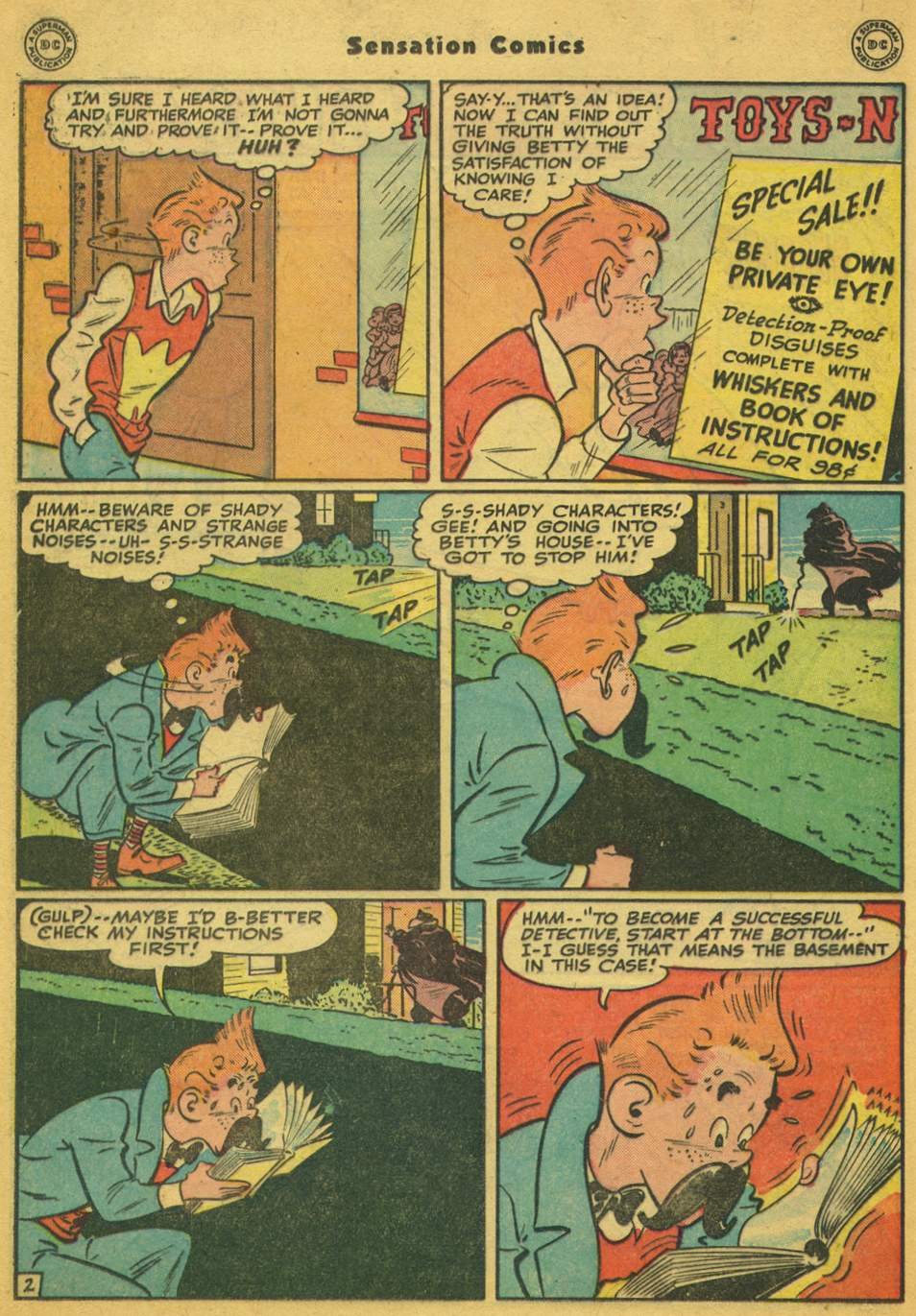 Read online Sensation (Mystery) Comics comic -  Issue #80 - 33