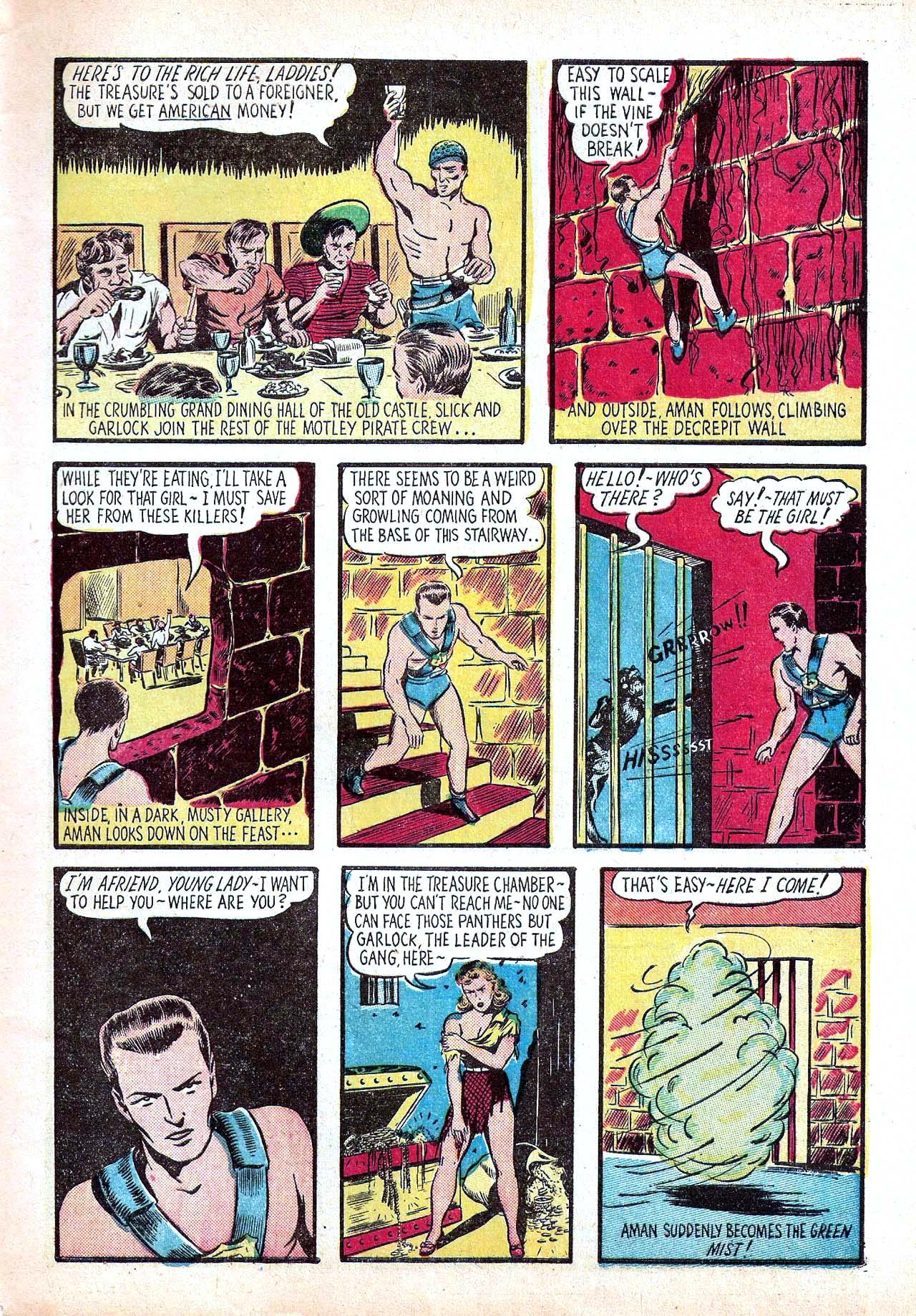Read online Amazing Man Comics comic -  Issue #11 - 7