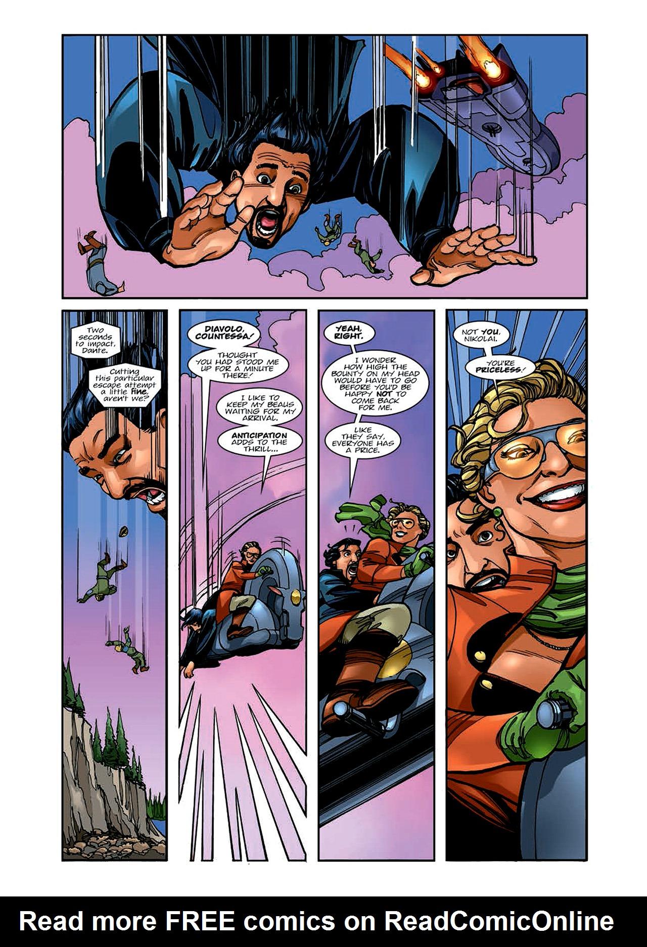 Read online Nikolai Dante comic -  Issue # TPB 6 - 37