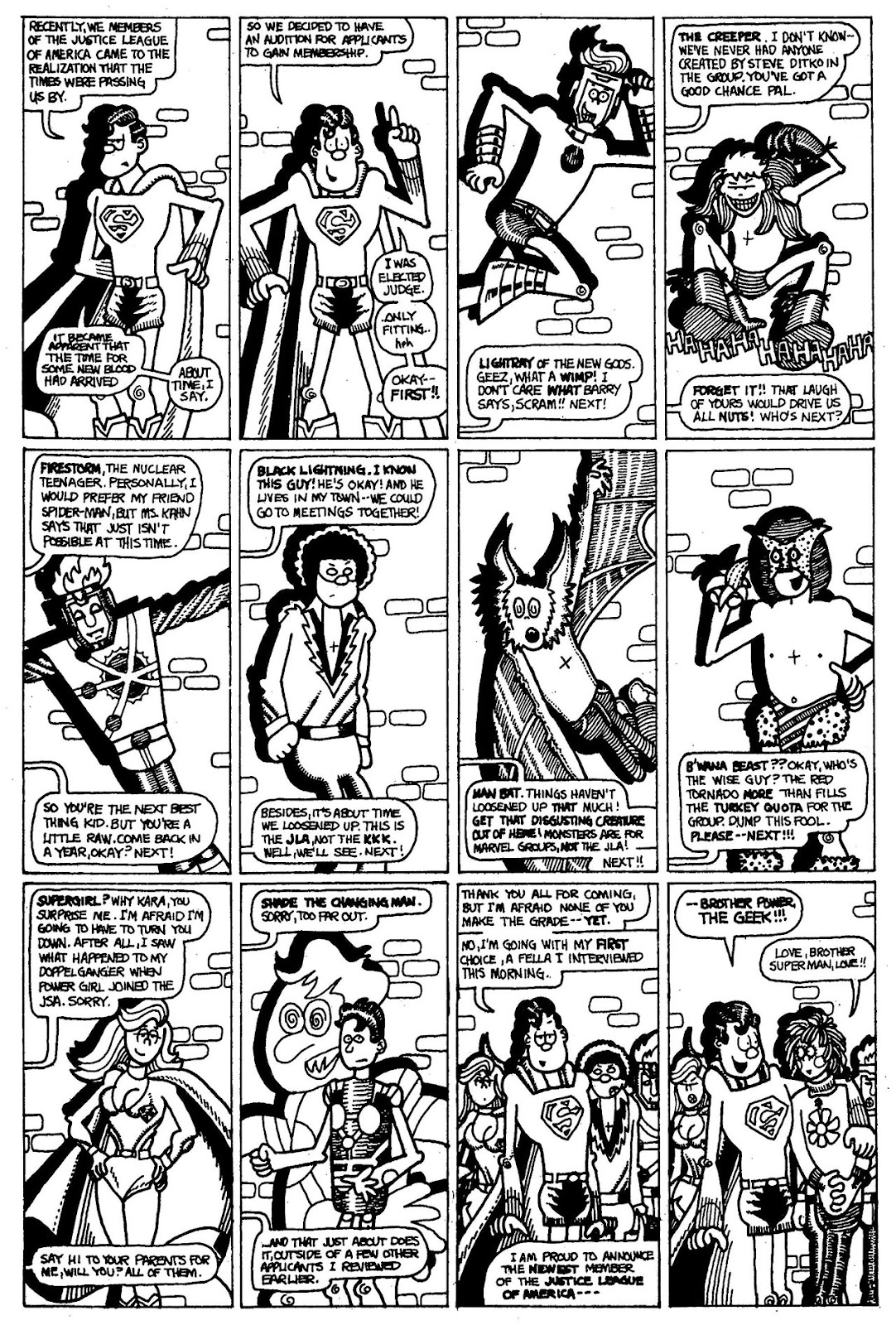 Read online The Nearly Complete Essential Hembeck Archives Omnibus comic -  Issue # TPB (Part 1) - 68