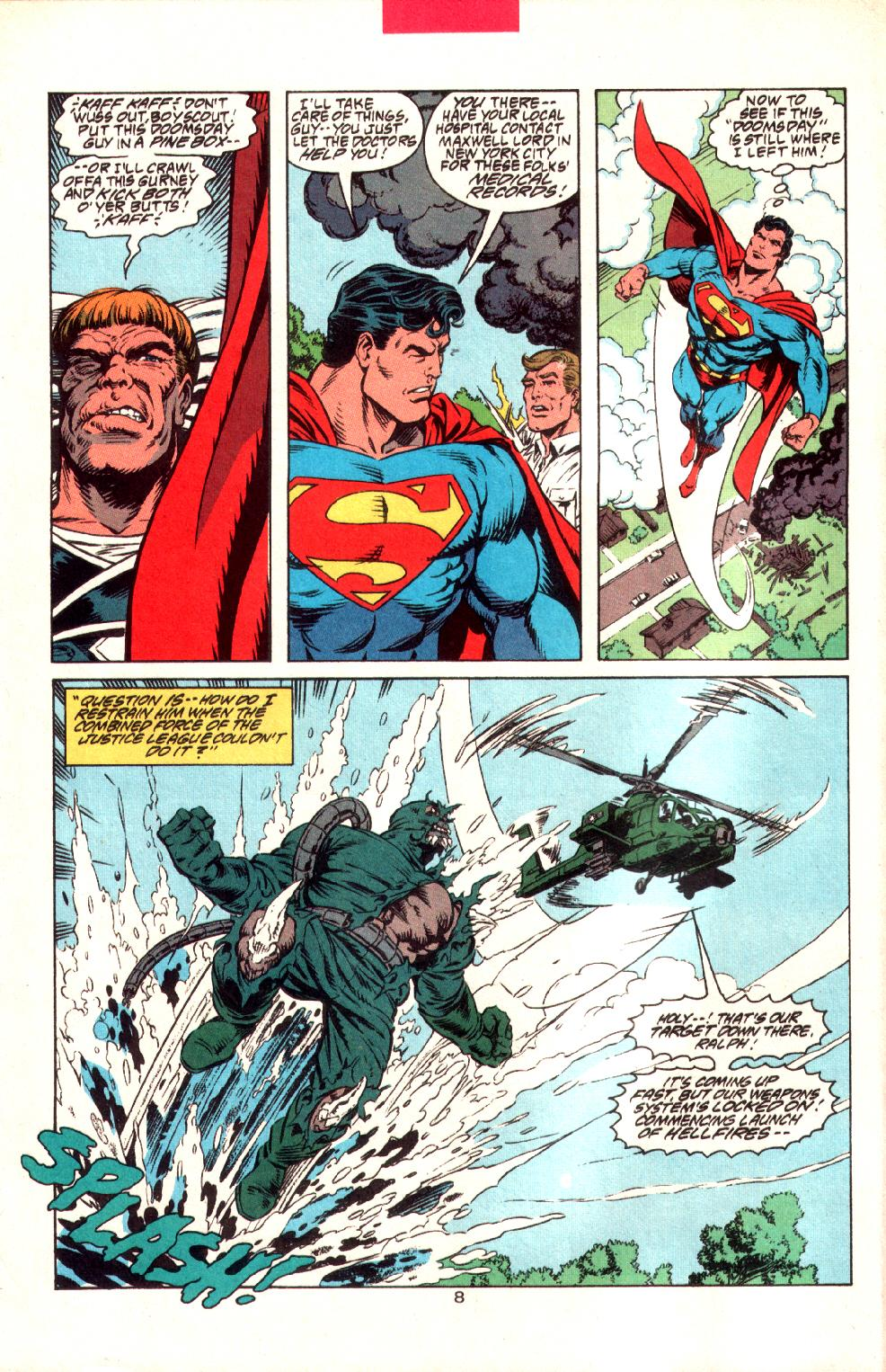 Read online Adventures of Superman (1987) comic -  Issue #497 - 9