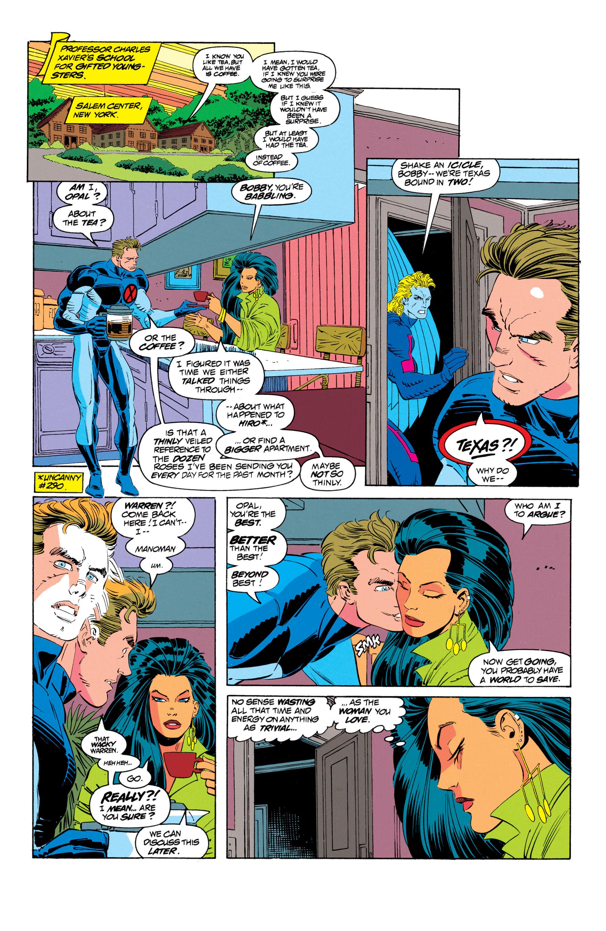 Read online Uncanny X-Men (1963) comic -  Issue #301 - 16