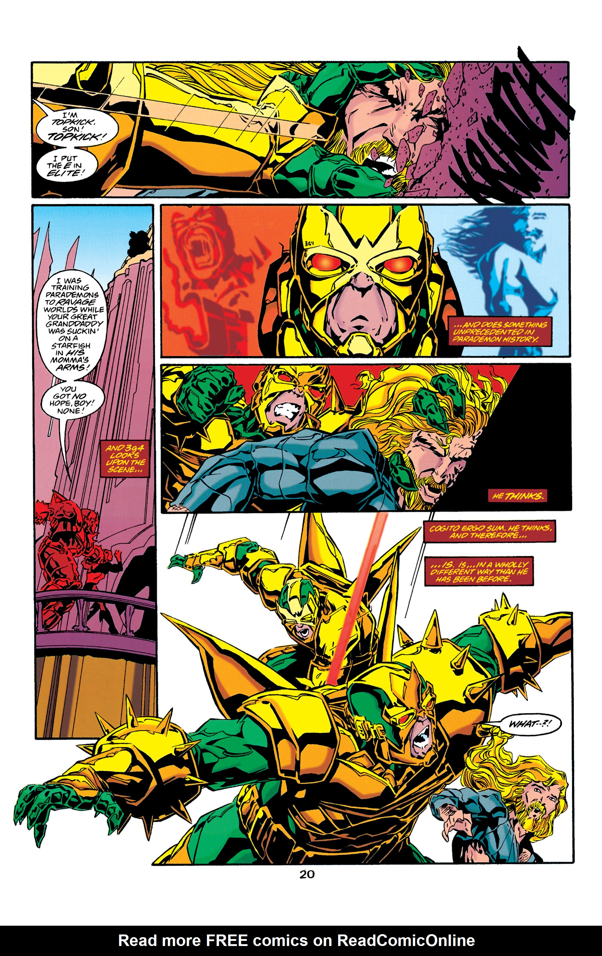 Read online Aquaman (1994) comic -  Issue #37 - 20