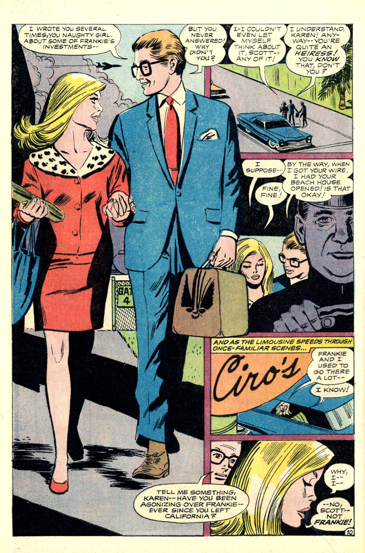 Read online Secret Hearts comic -  Issue #127 - 28