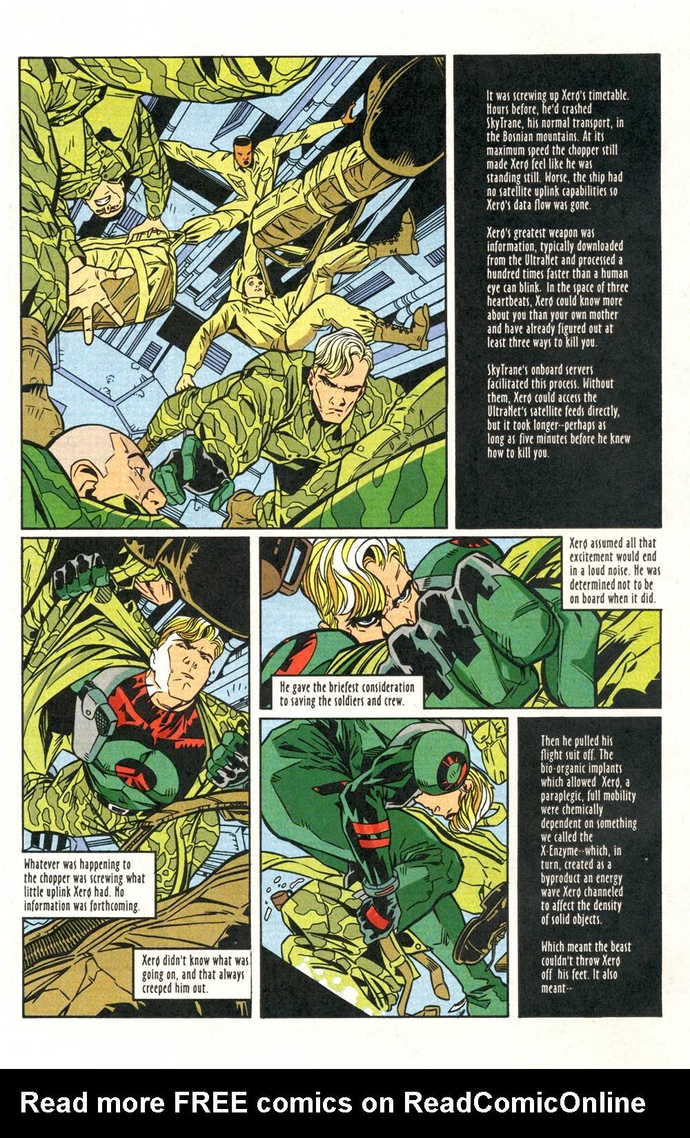 Read online Xero comic -  Issue #6 - 7